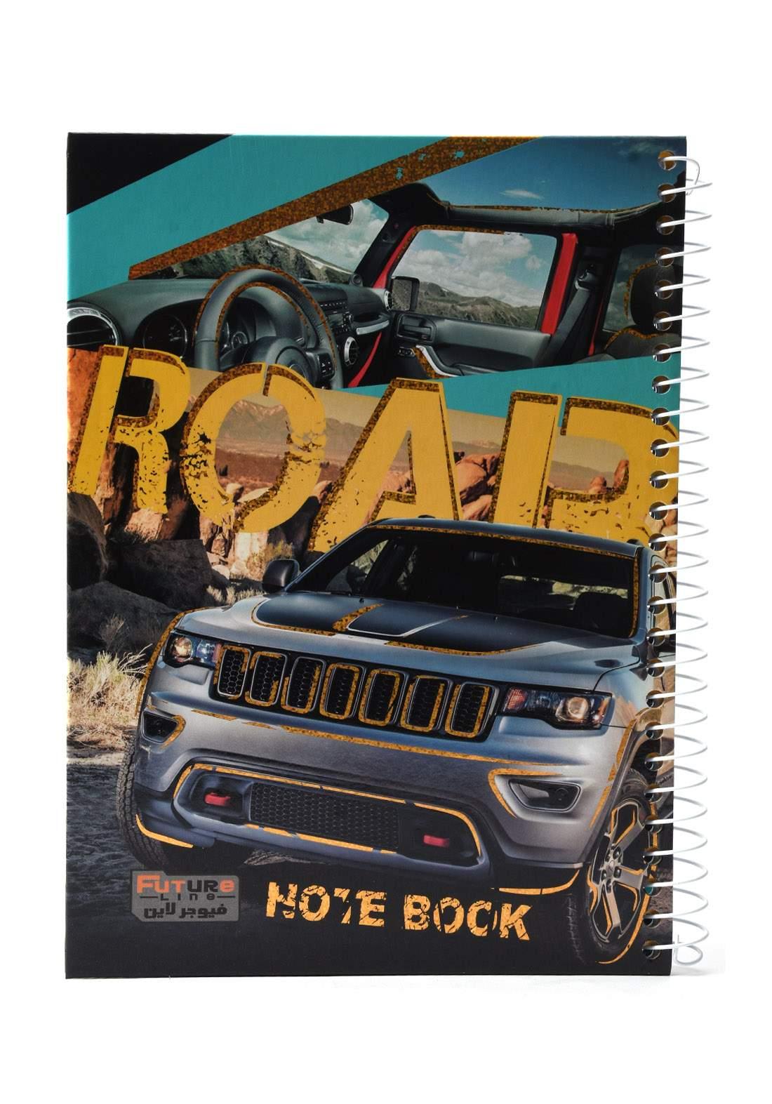 دفتر 100 ورقة سيم برسمة سيارة KH-300