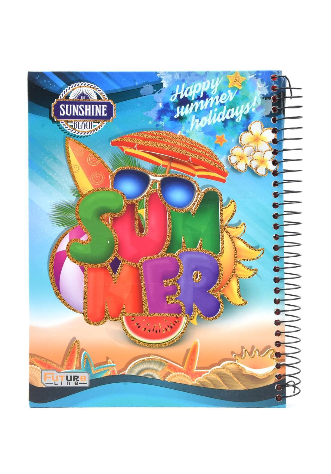 دفتر 200 ورقة سيم برسمة Summer KHB-800