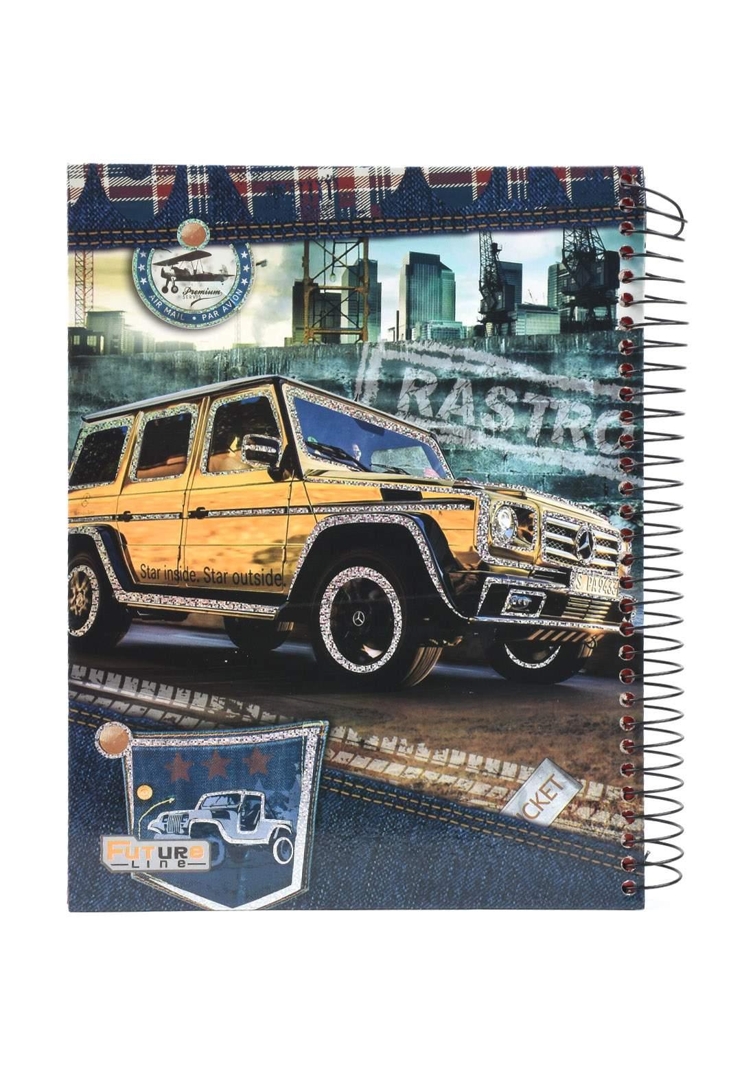 دفتر 200 ورقة سيم برسمة سيارة صفراء KHB-800