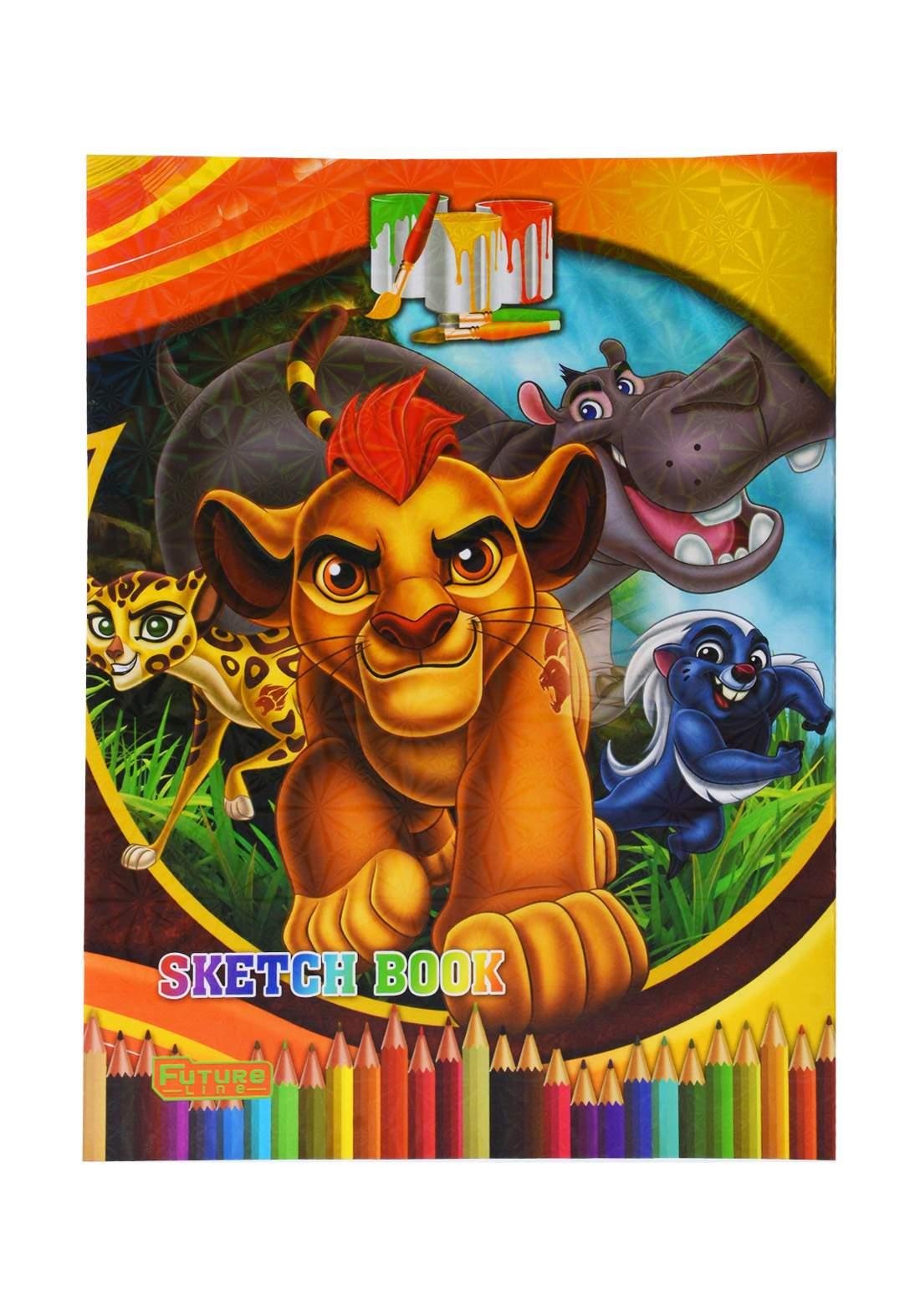 دفتر رسم 20 ورقة برسمة  Lion Guard KH-20