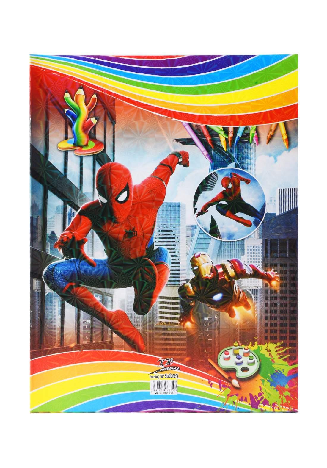 دفتر رسم 20 ورقة برسمة Spider Man KH-20