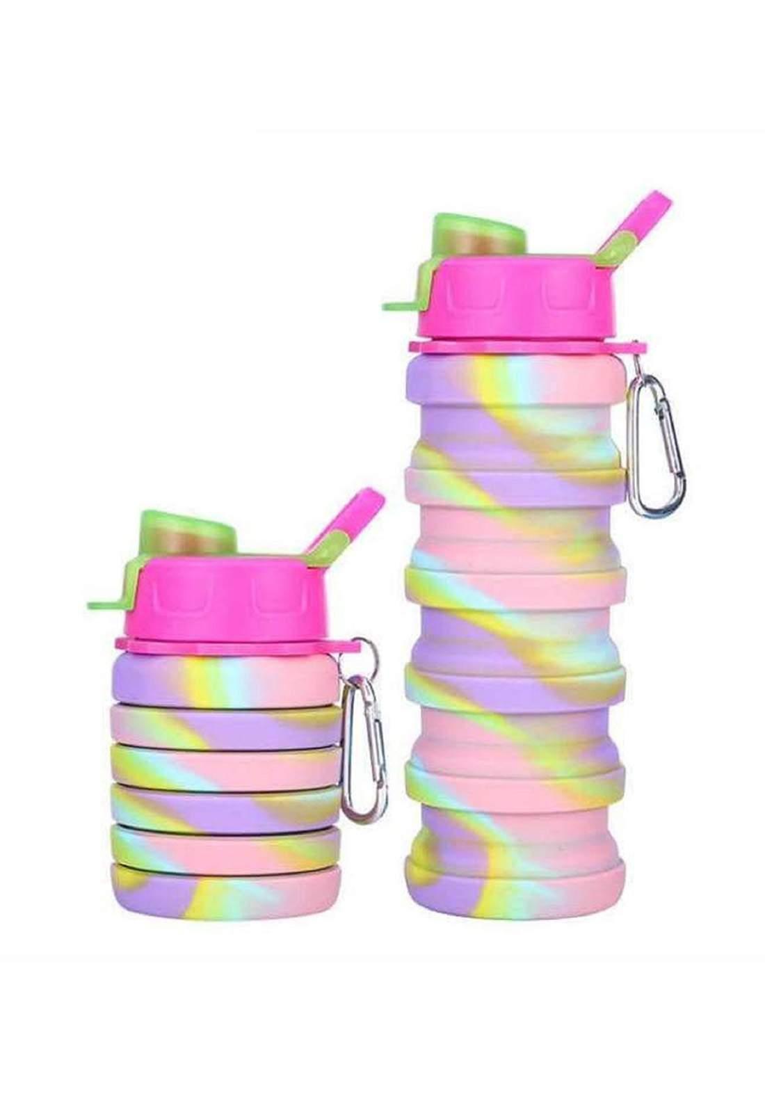 water bottle changeable size 225ml-500ml مطارة ماء قابلة للطي