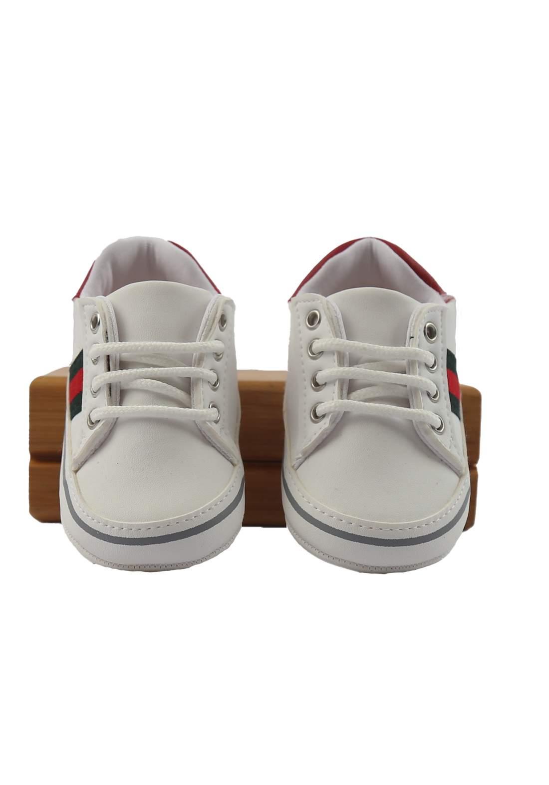 حذاء ولادي للأطفال أبيض أللون (2115)