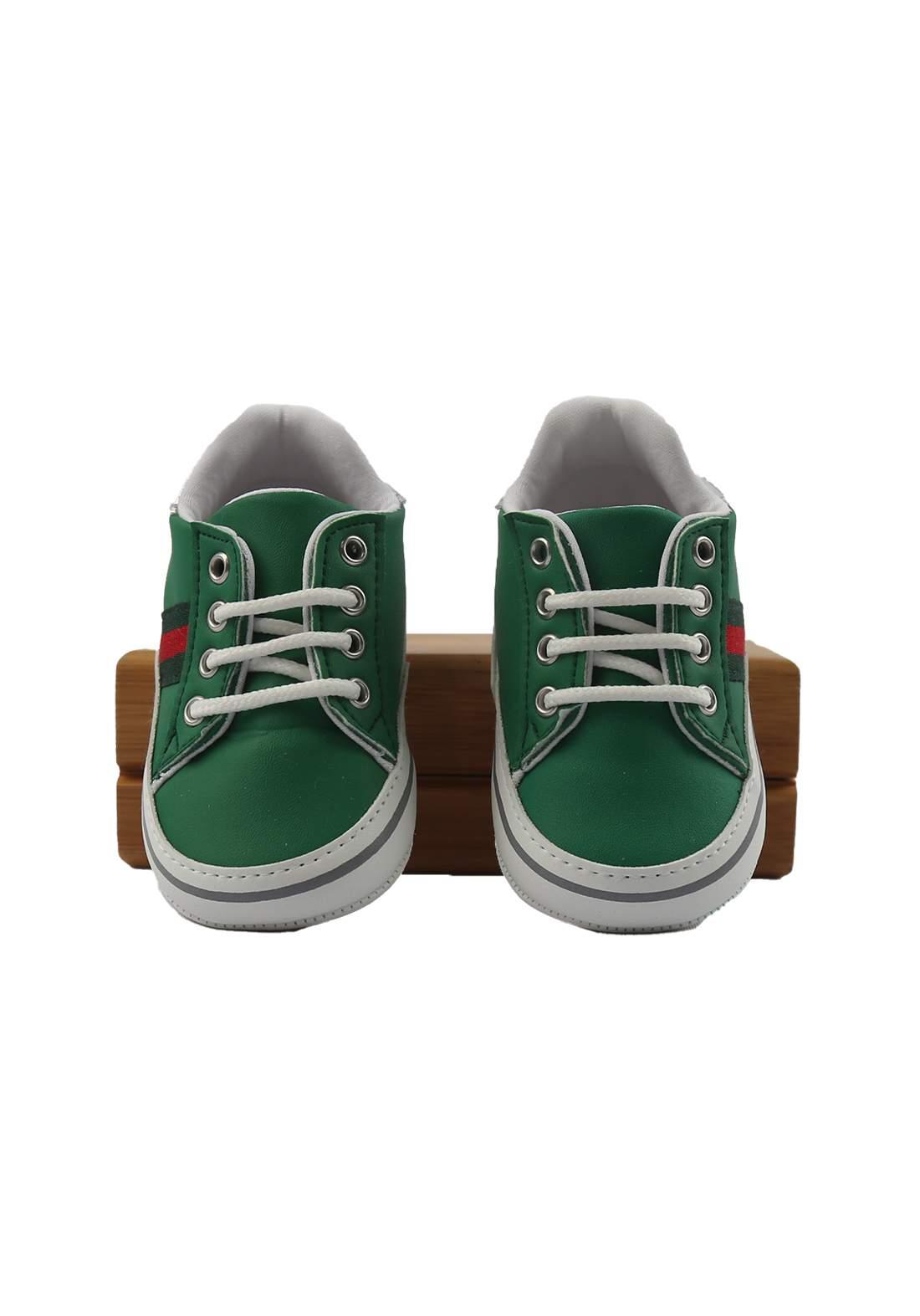 حذاء ولادي للأطفال أخضر أللون (2115)