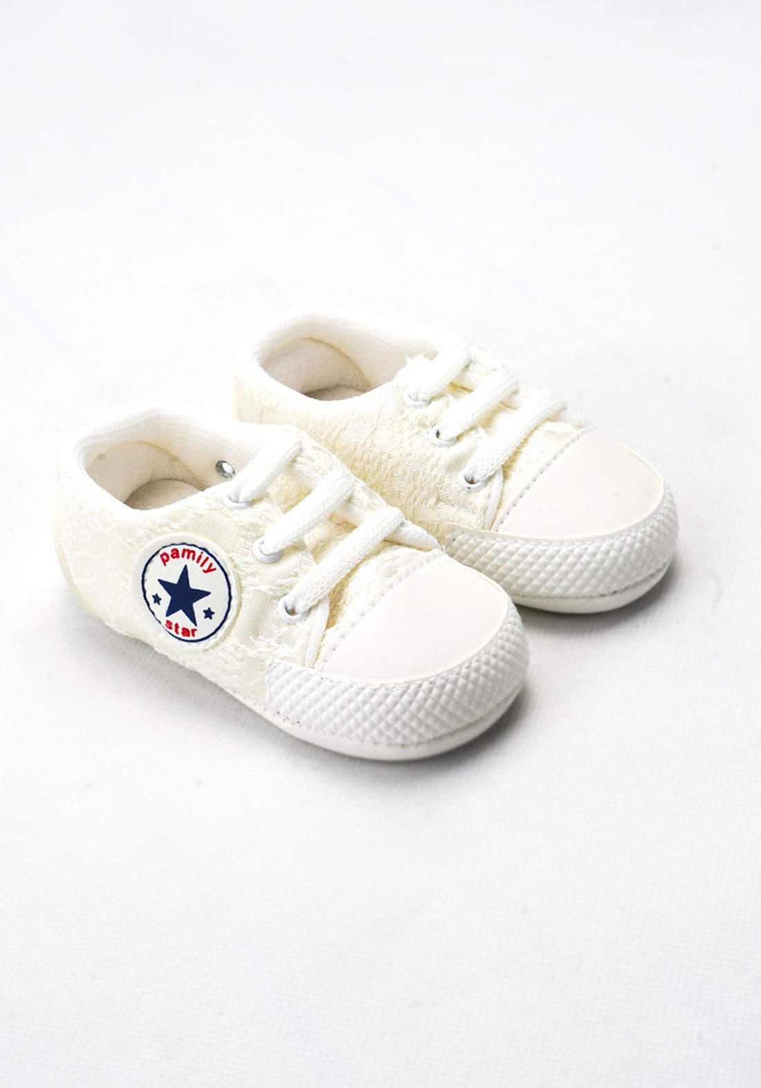 حذاء ولادي للاطفال حديثي الولادة اوف وايت  اللون