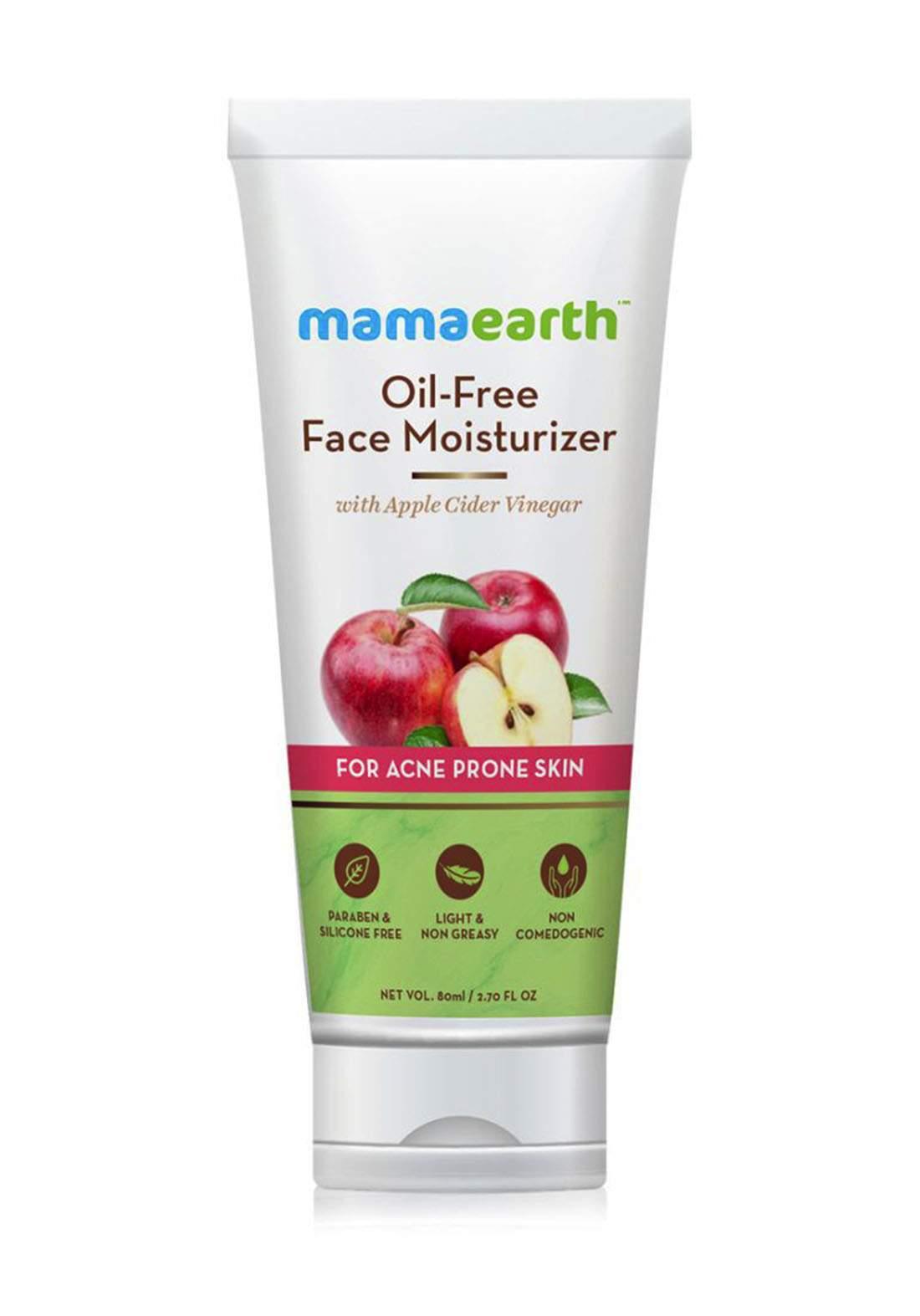 Mamaearth Oil Free Moisturizer For Face With Apple Cider Vinegar 80g مرطب للوجه