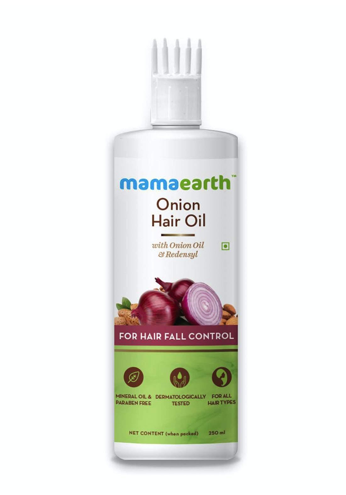 Mamaearth Onion Hair Oil For Hair 250ml زيت للشعر