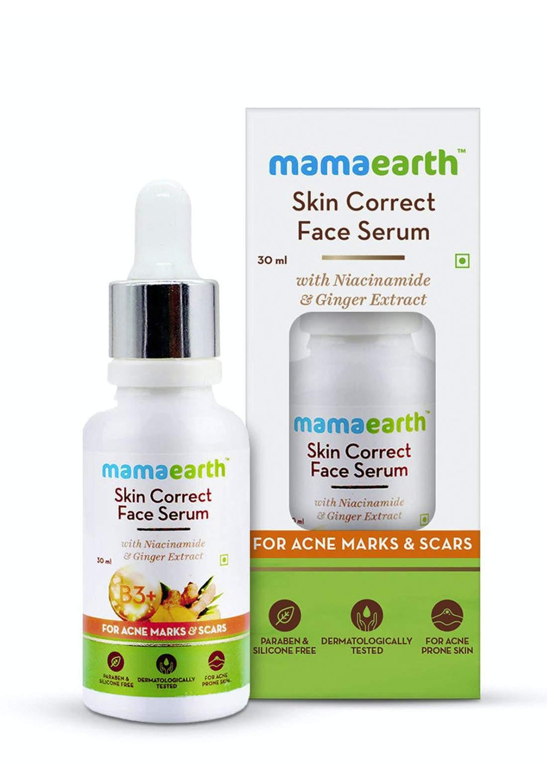 Mamaearth Skin Correct Face Serum 30ml سيروم للبشرة