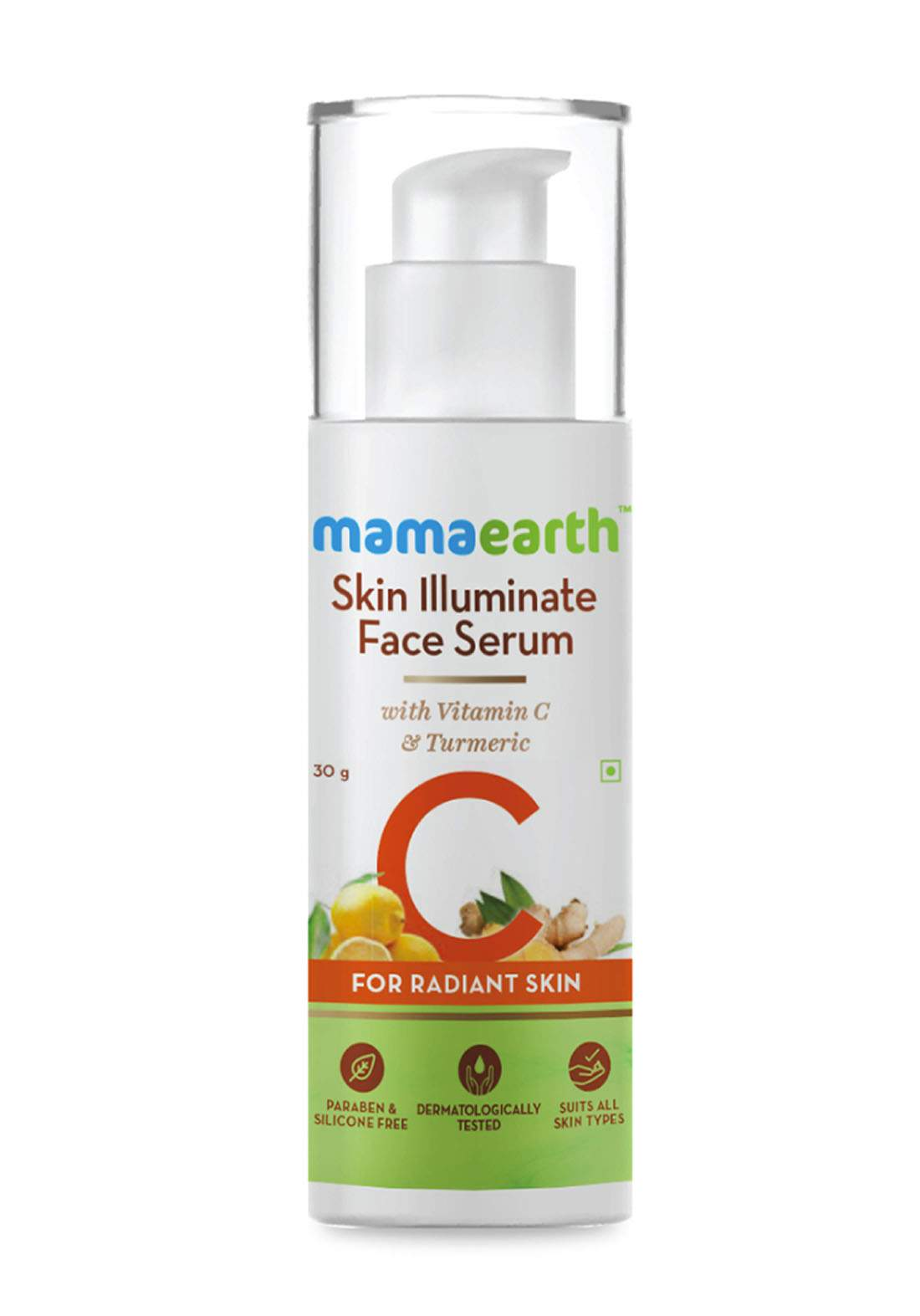Mamaearth Skin Illuminate Face Serum 30g سيروم للبشرة