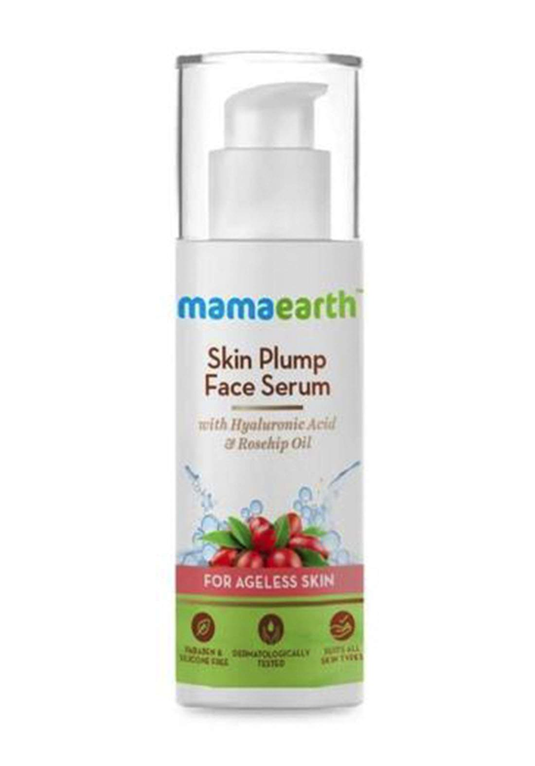 Mamaearth Skin Plump Face Serum 30ml سيروم للبشرة