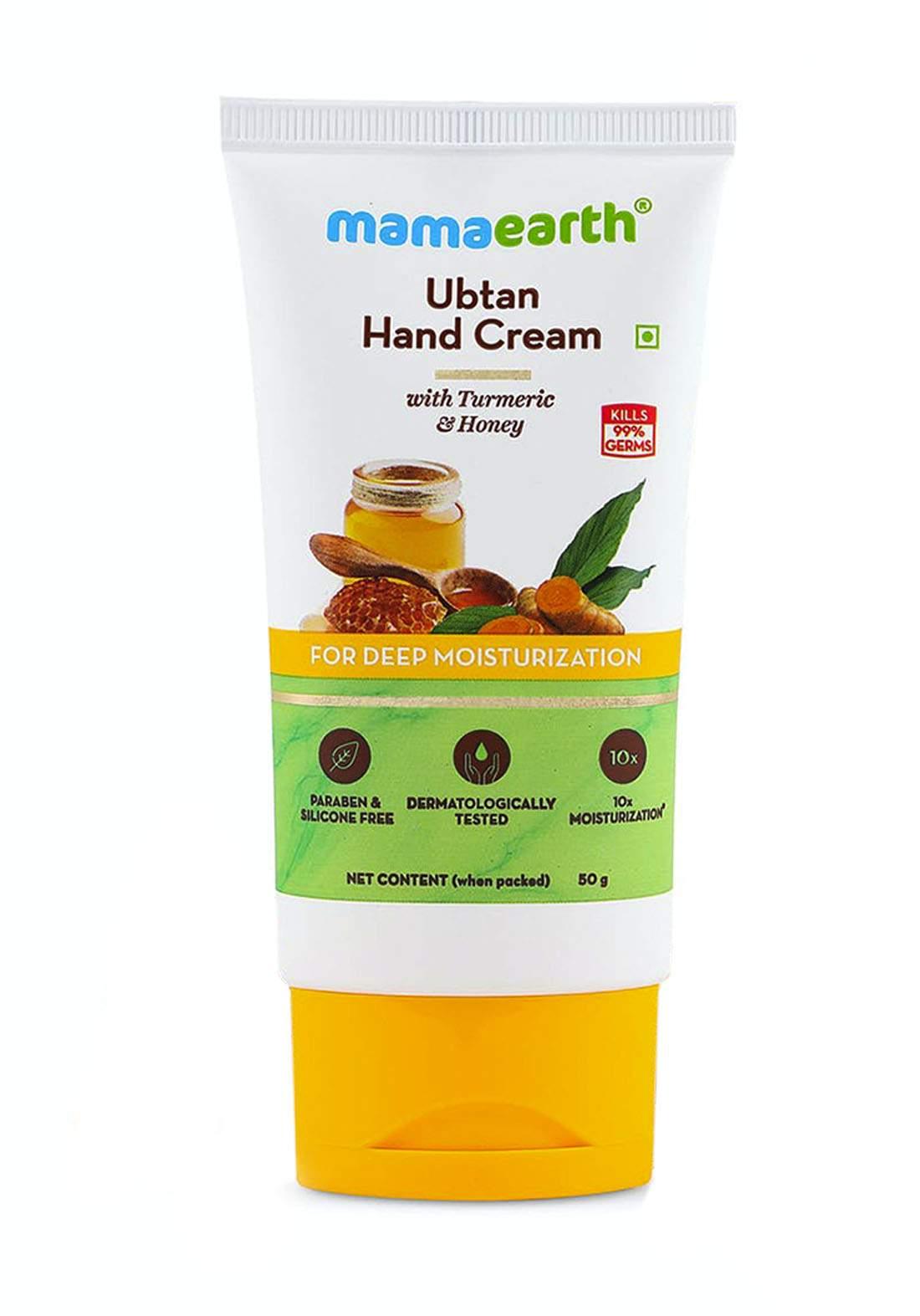 Mamaearth Ubtan Hand Cream 50g كريم لليدين