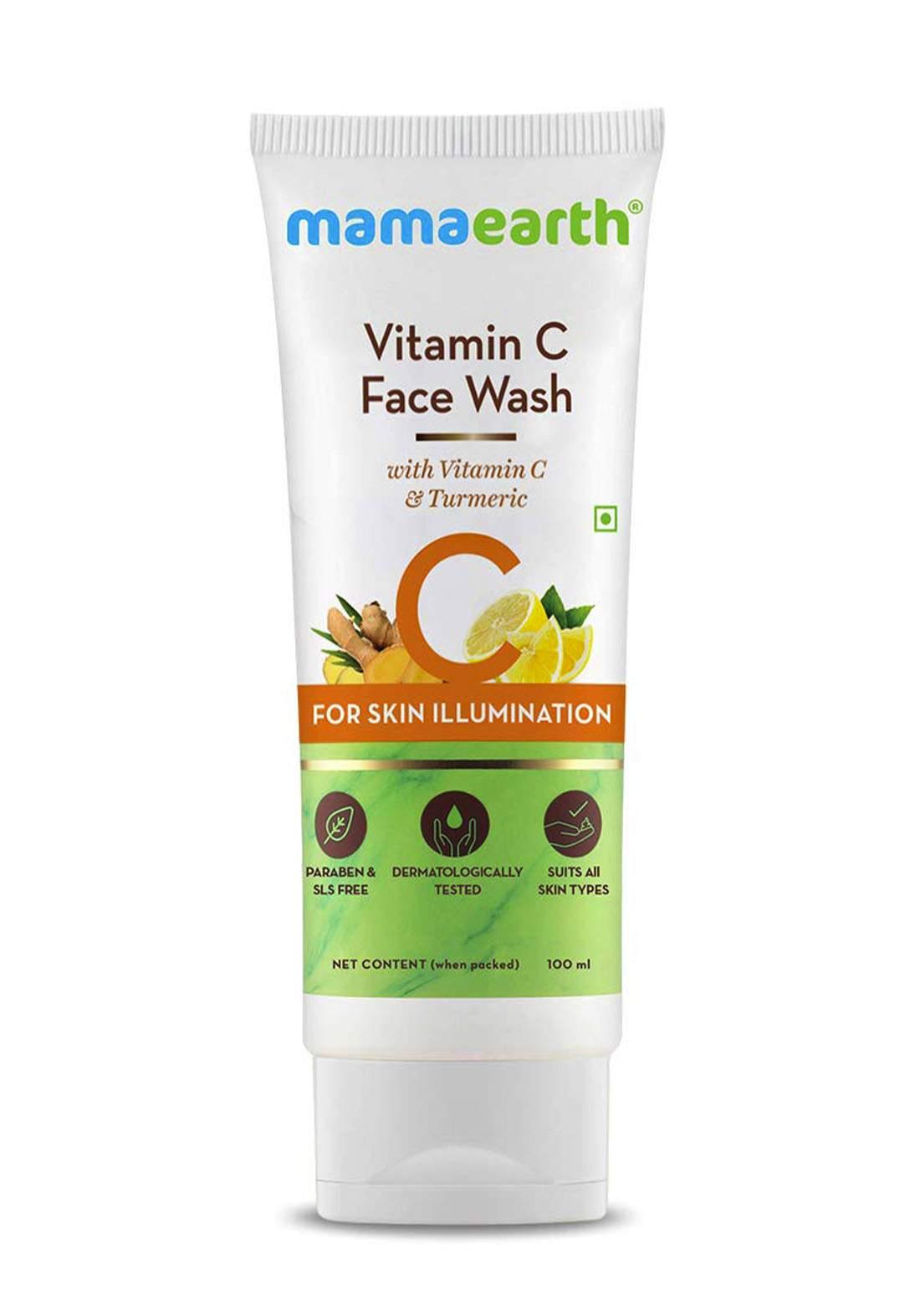 Mamaearth  Face Wash 100ml غسول للوجه