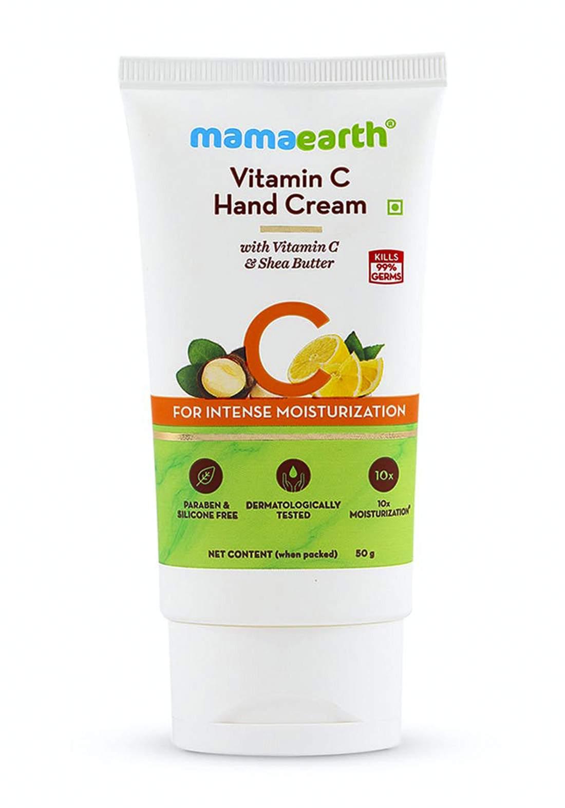 Mamaearth Vitamin C Hand Cream 50g كريم لليدين