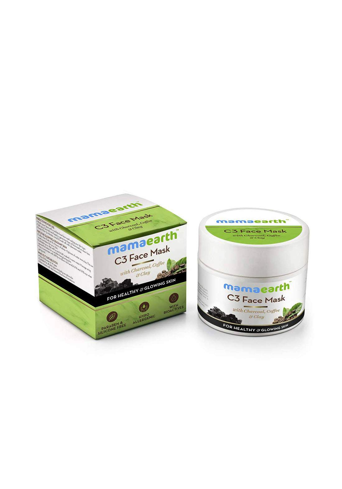 Mamaearth C3 Face Mask For Healthy And Glowing Skin 100ml قناع للوجه