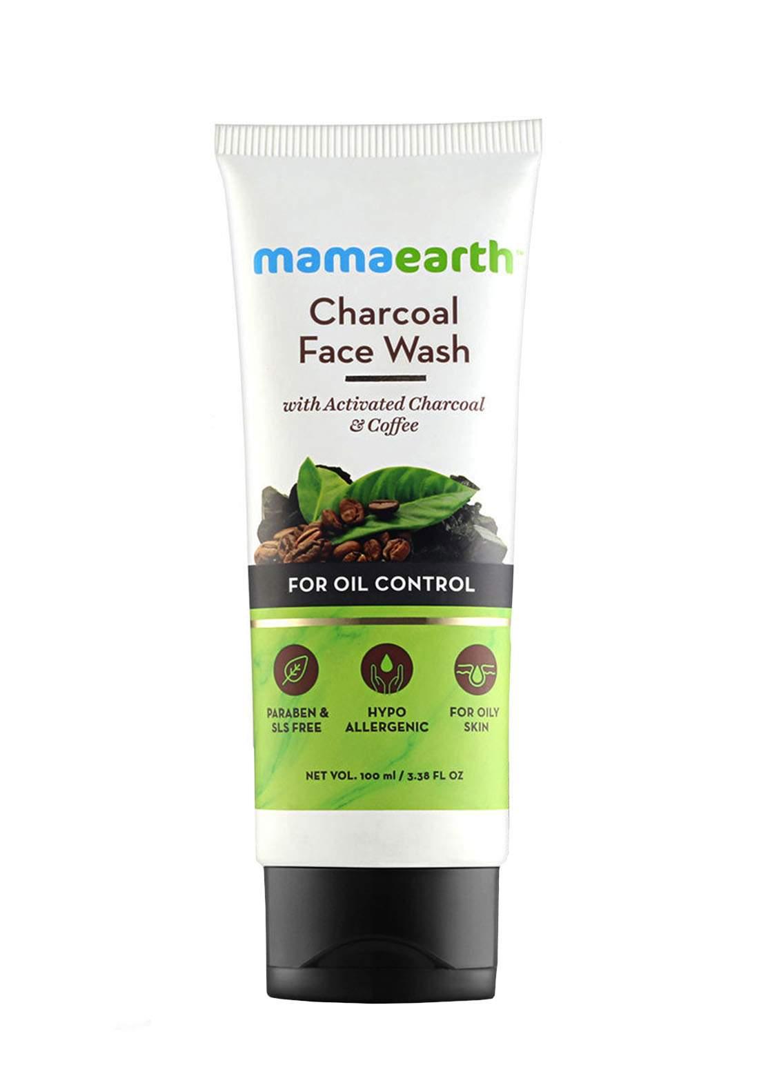 Mamaearth Charcoal Face Wash 100ml غسول للوجه