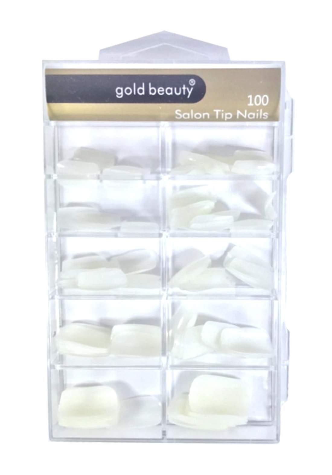 Gold Beauty Ep-704 False Nails 100Pcs  أظافر صناعية