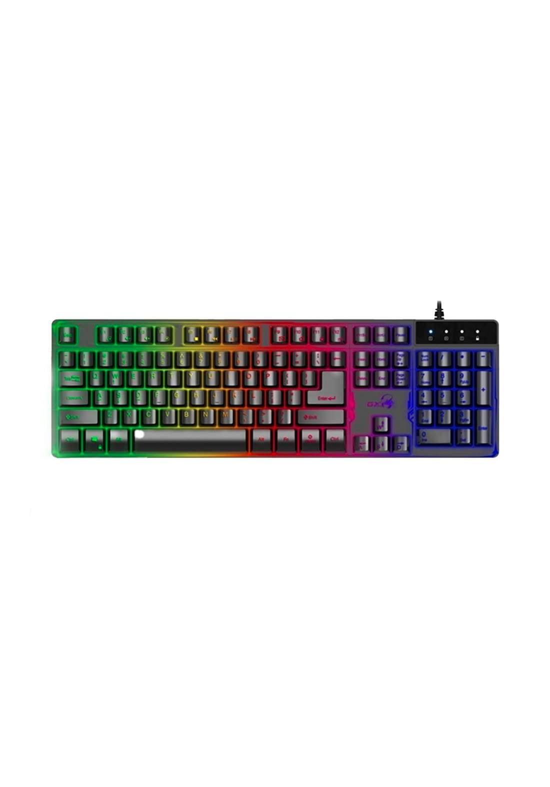 Genius GX Scorpion K8 Gaming Keyboard - Black كيبورد
