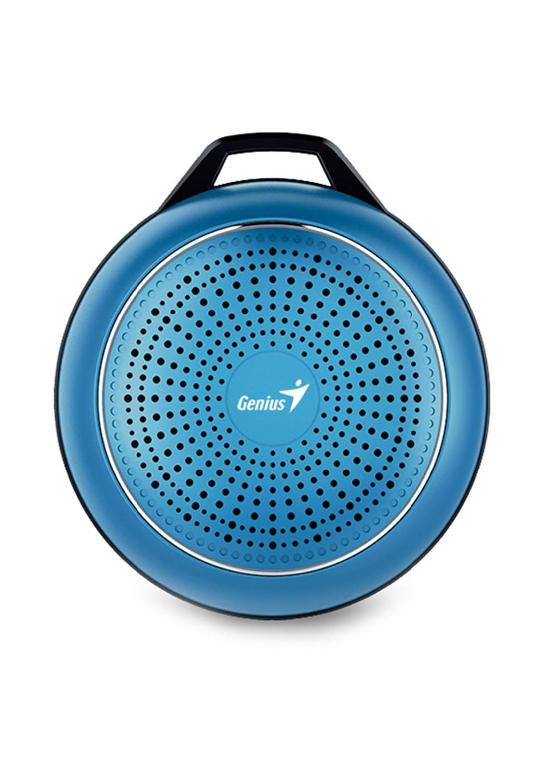 Genius SP-906BT Plus Bluetooth Speaker - Blue سبيكر