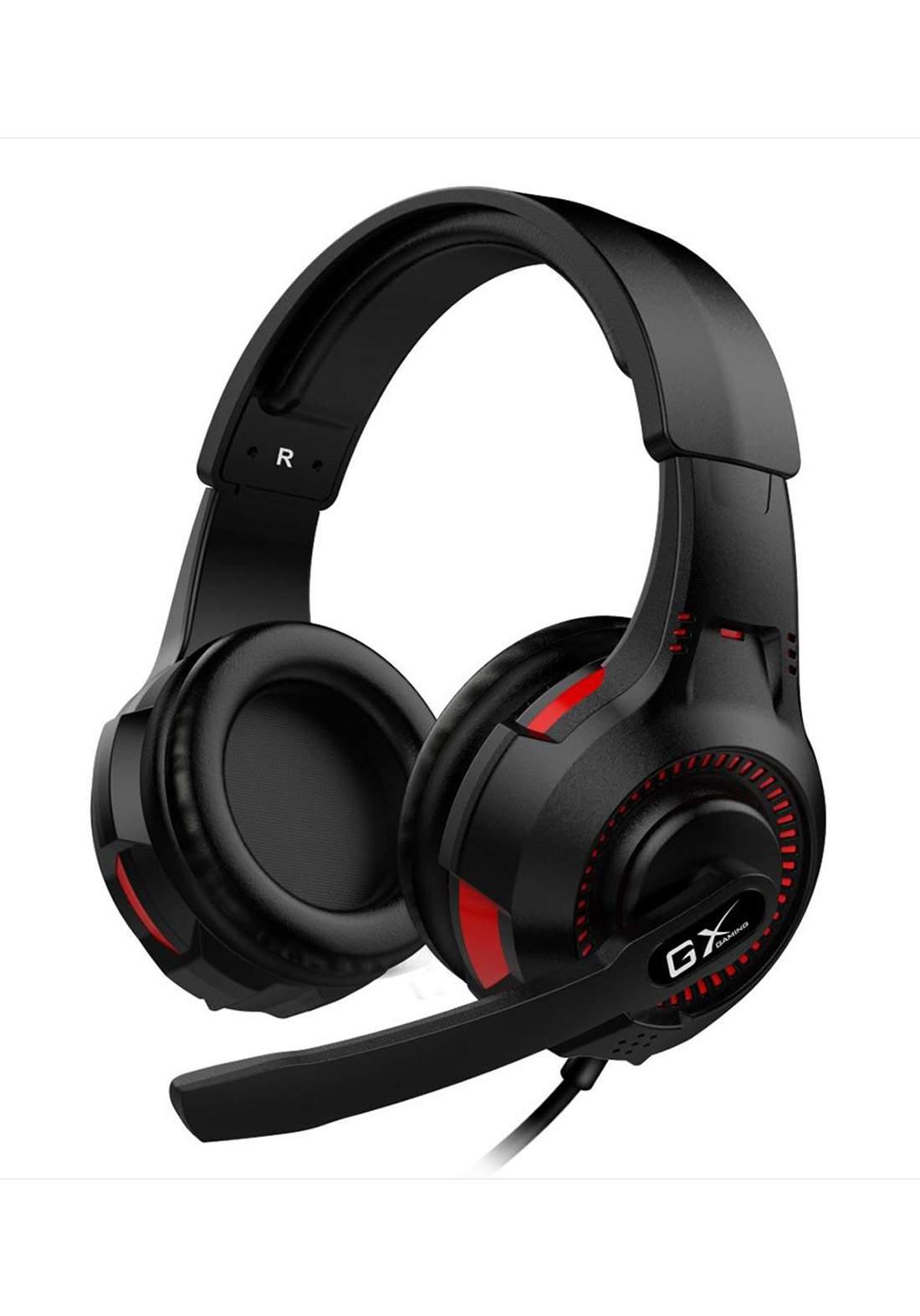 Genius GX HS-G600V Vibration Gaming Headset - Black سماعة