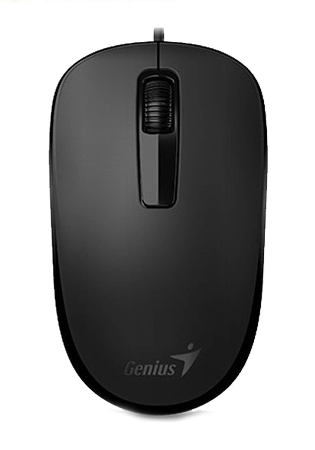 Genius DX-125 Wired Mouse - Black ماوس