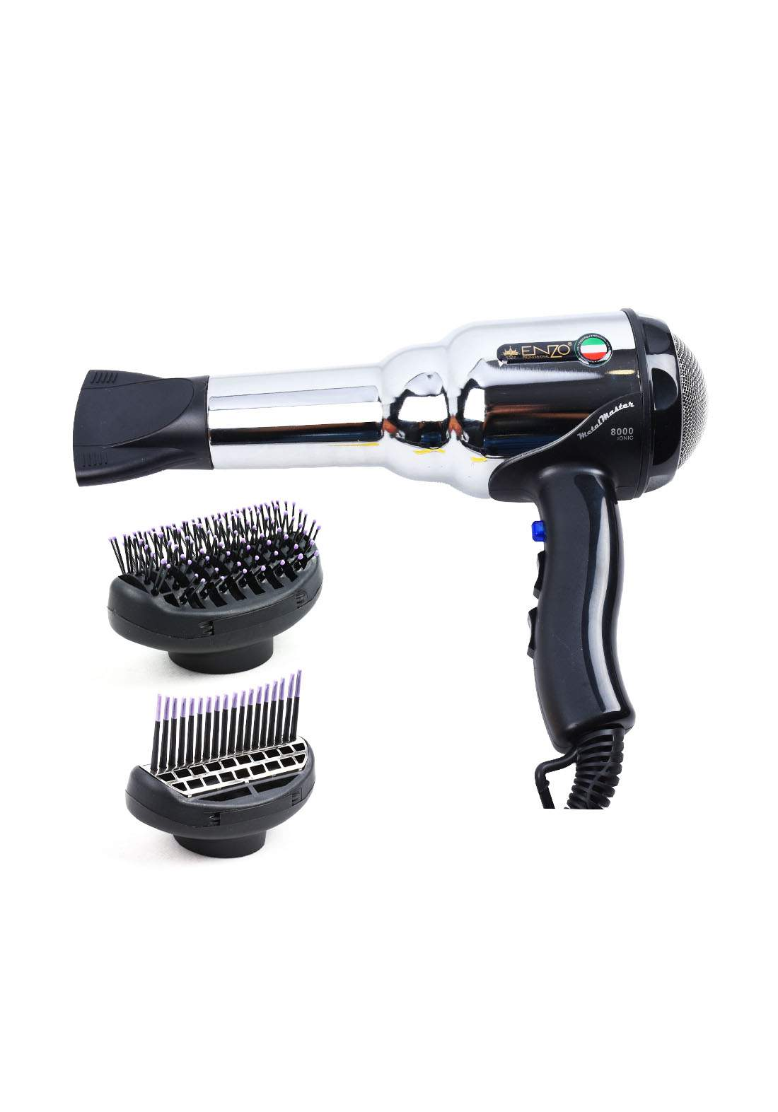 Enzo EN-3001 Metal Master Hair Dryer  مجفف الشعر