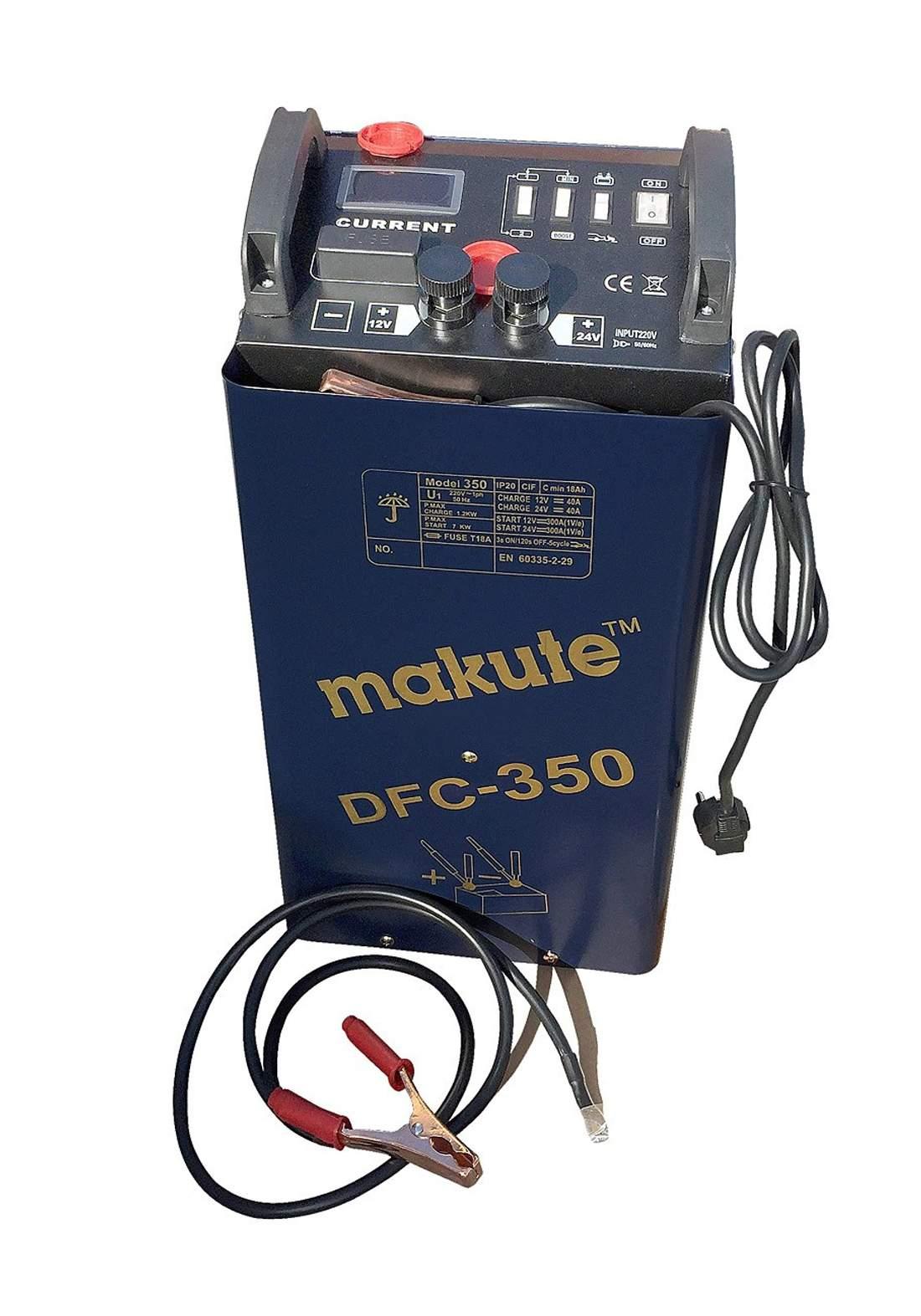 Makute  DFC-350 Car Starter Robot / Battery Chargers شاحنة بطاريات السيارة+ مشغل سيارات