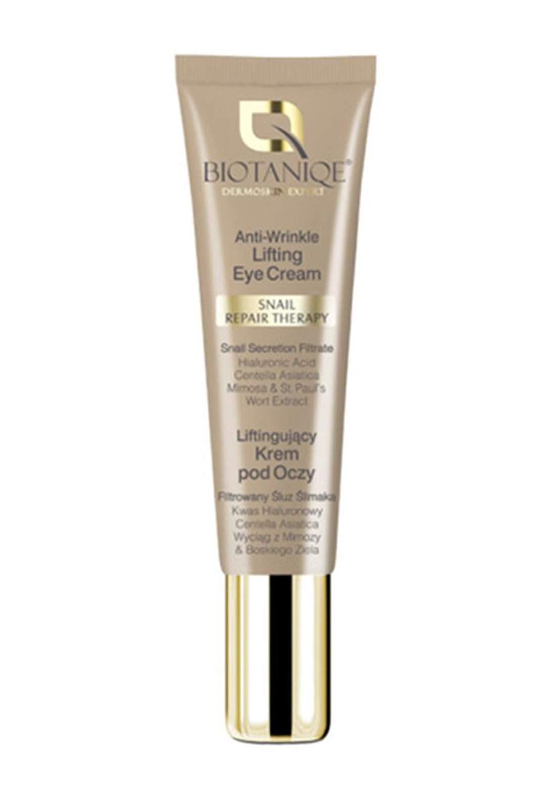 Biotaniqe  Anti-Wrinkle Lifting Eye Cream 15ml كريم شد و معالجة التجاعيد حول العين