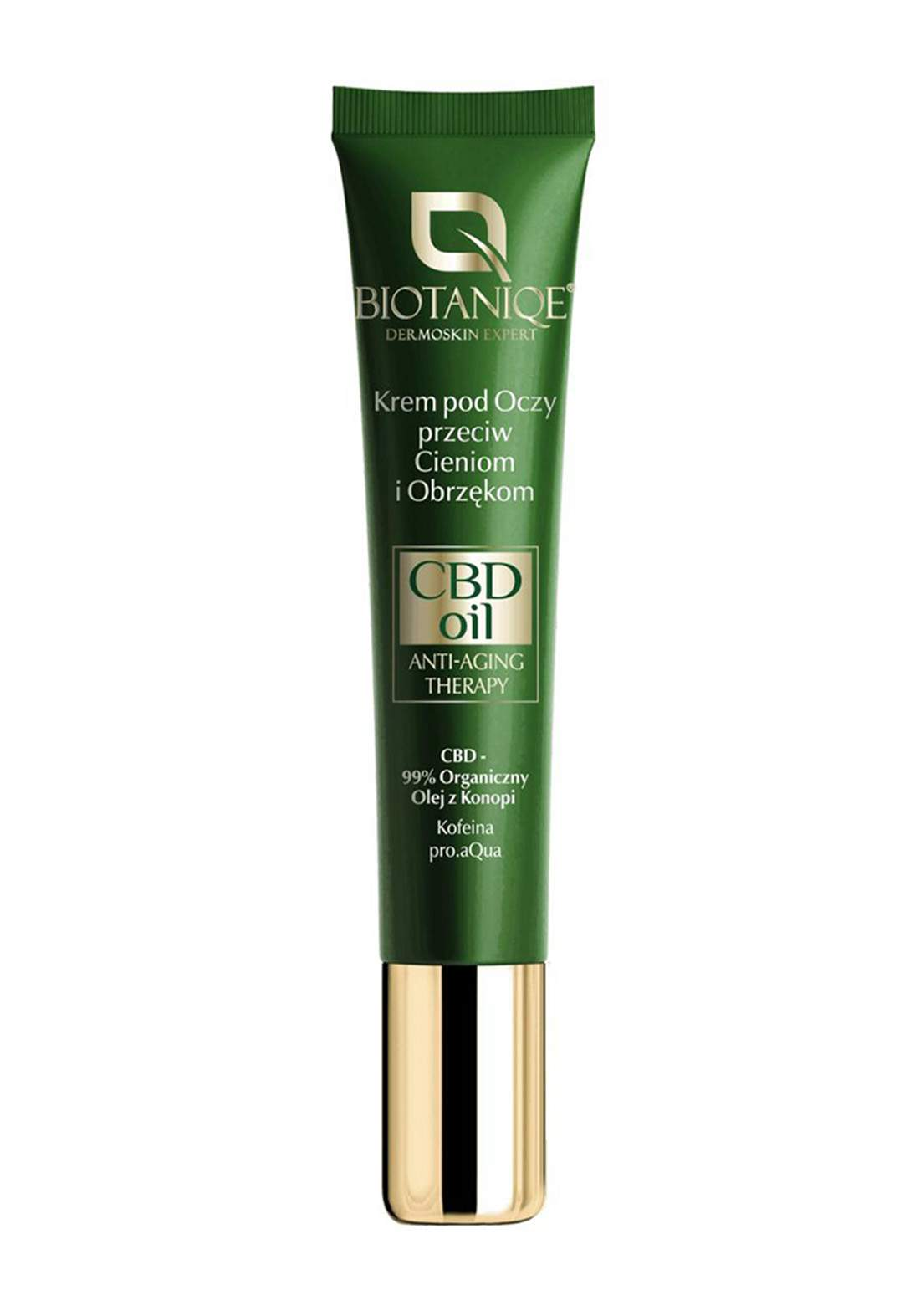 Biotaniqe CBD Oil Anti-Aging Eye Cream 15ml كريم معالج لمنطقة حول العين