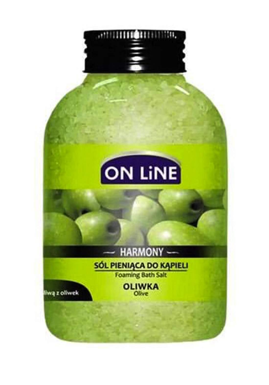 Online Harmony Oilve 600g املاح العناية بالجسم