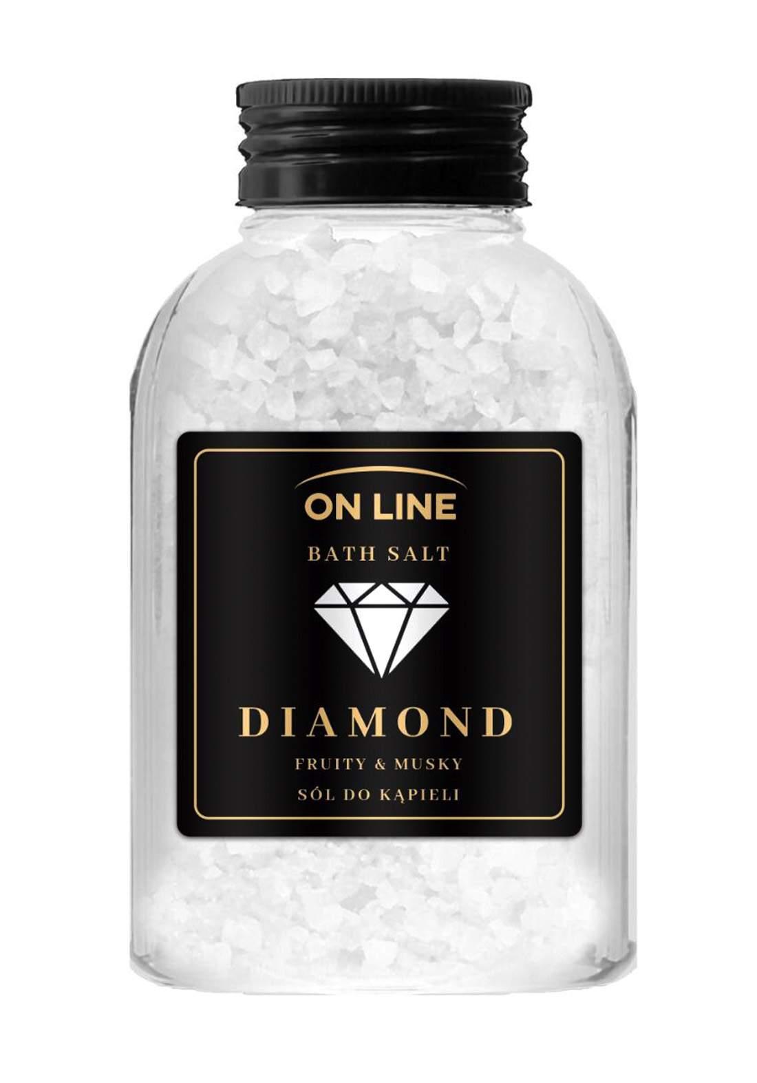 Online Diamond bath salts 600g املاح  املاح العناية بالجسم