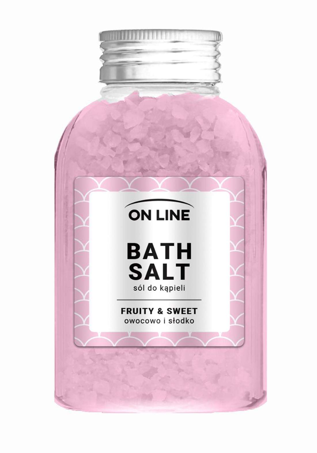 Online Fruity&sweet bath salts 600g املاح العناية بالجسم
