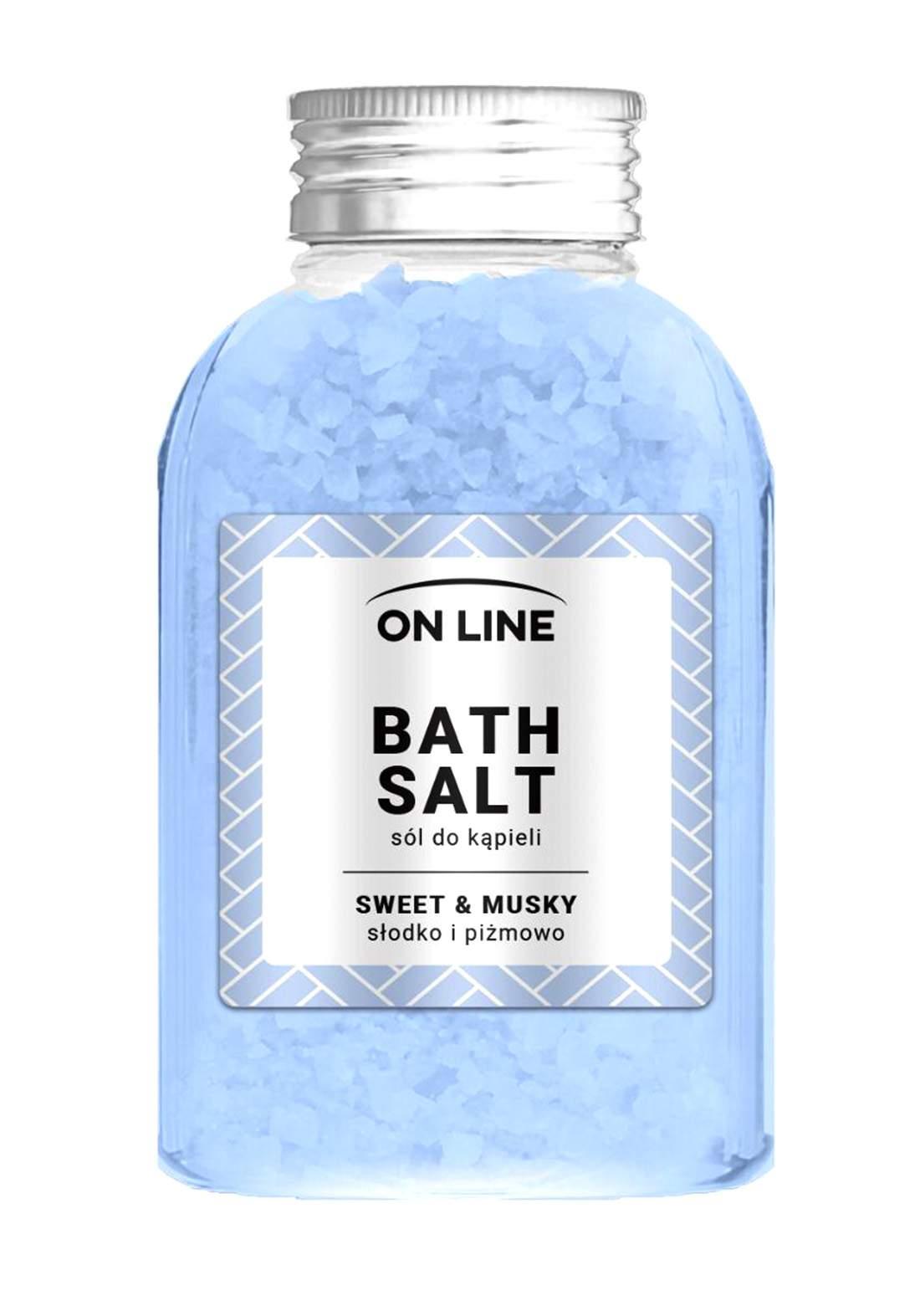 Online Sweet&musky bath salts 600g املاح العناية بالجسم