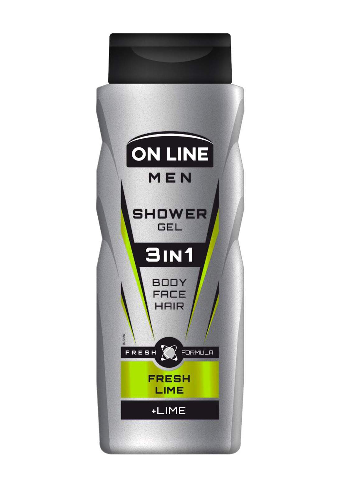 Online Fresh lime 3 in1Body and face wash and men shampoo 400 ml  غسول للرجال