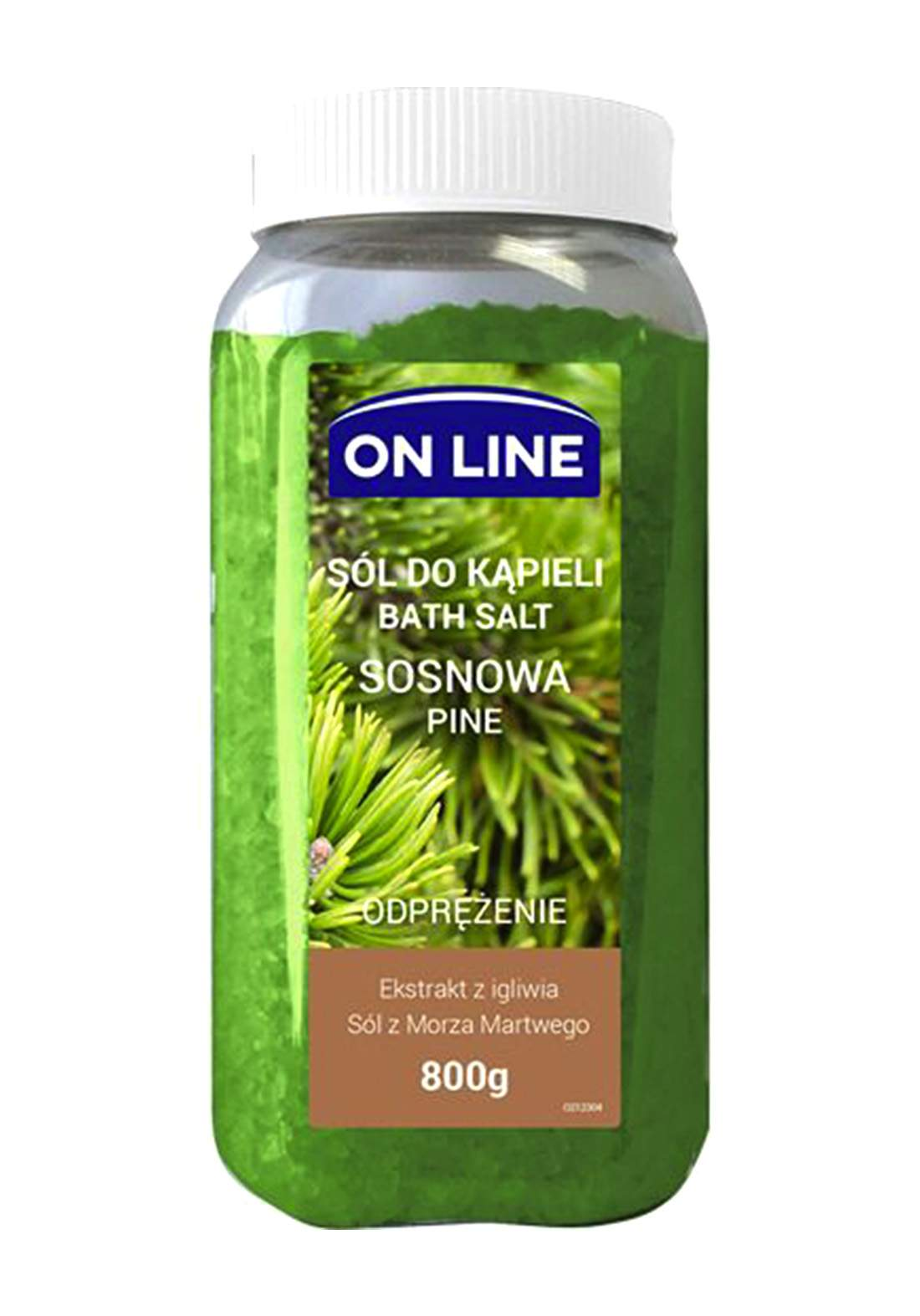 Online Pine bath salts 800g املاح العناية بالجسم