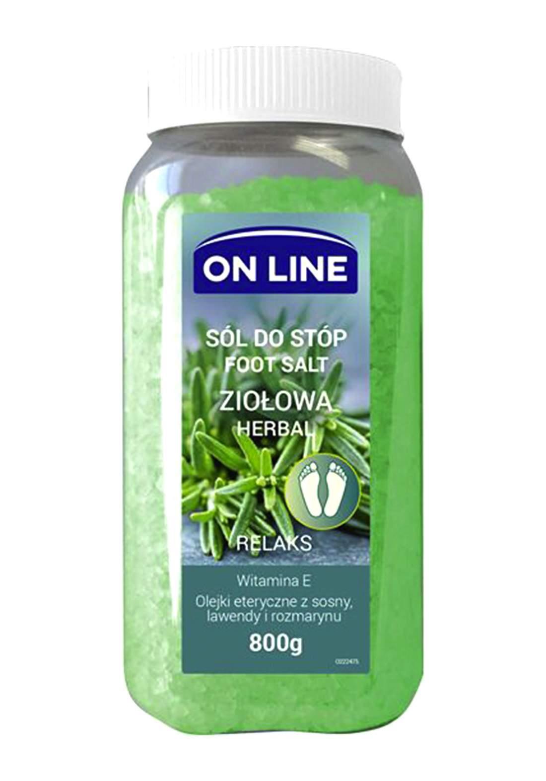 Online Herbal bath salts 800g املاح العناية بالقدم