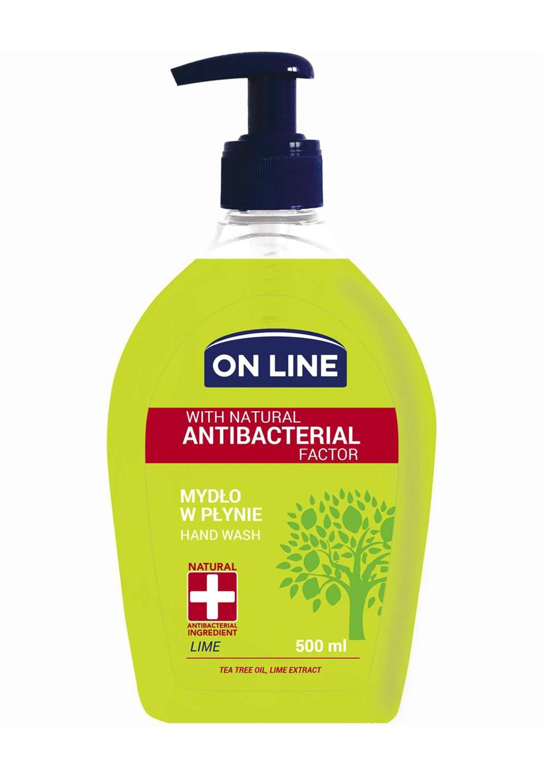 Online With tea tree oil and lemon extract Hand wash 500 ml  صابون سائل لليدين