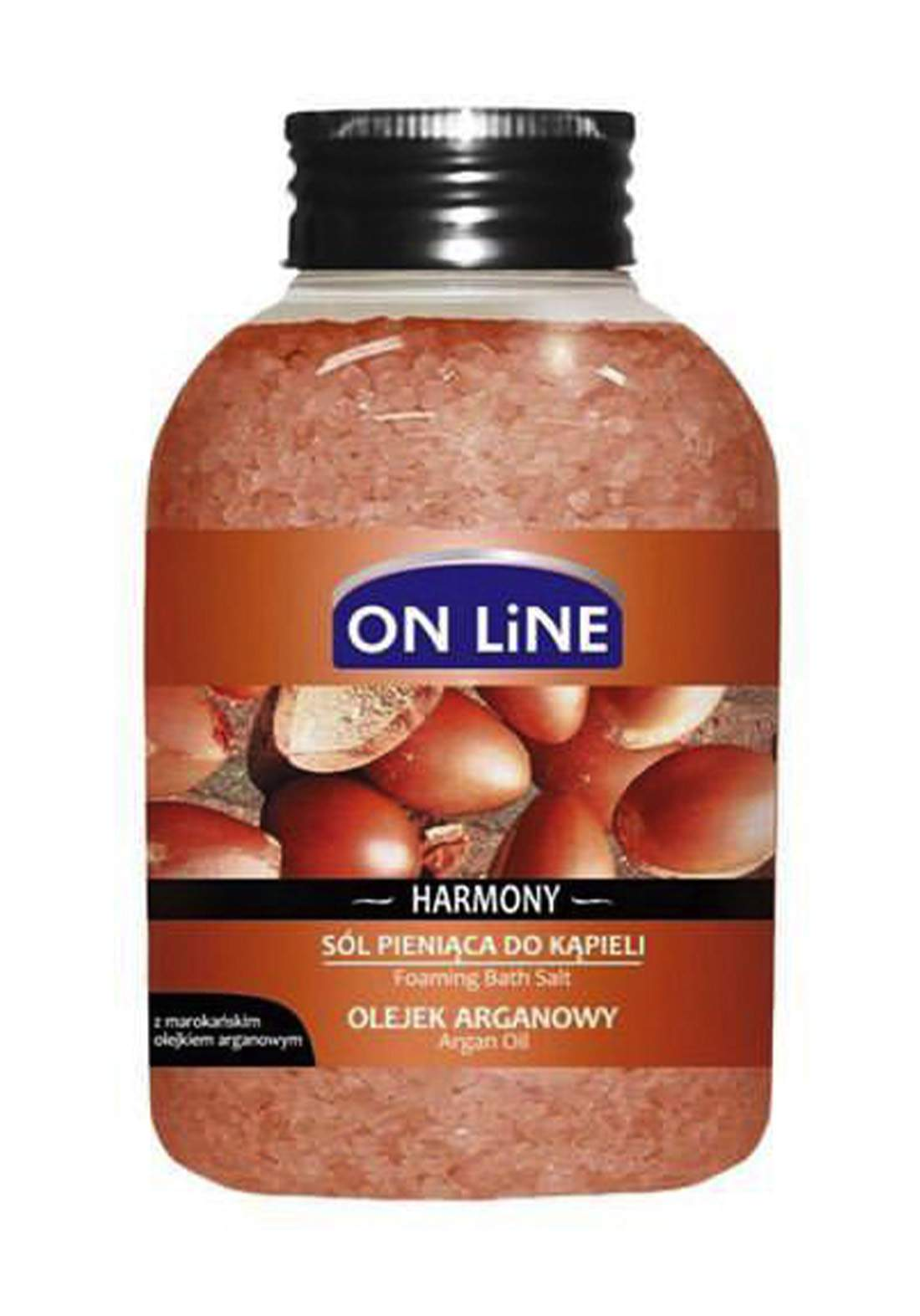 Online Harmony argan oil 600g املاح العناية بالجسم