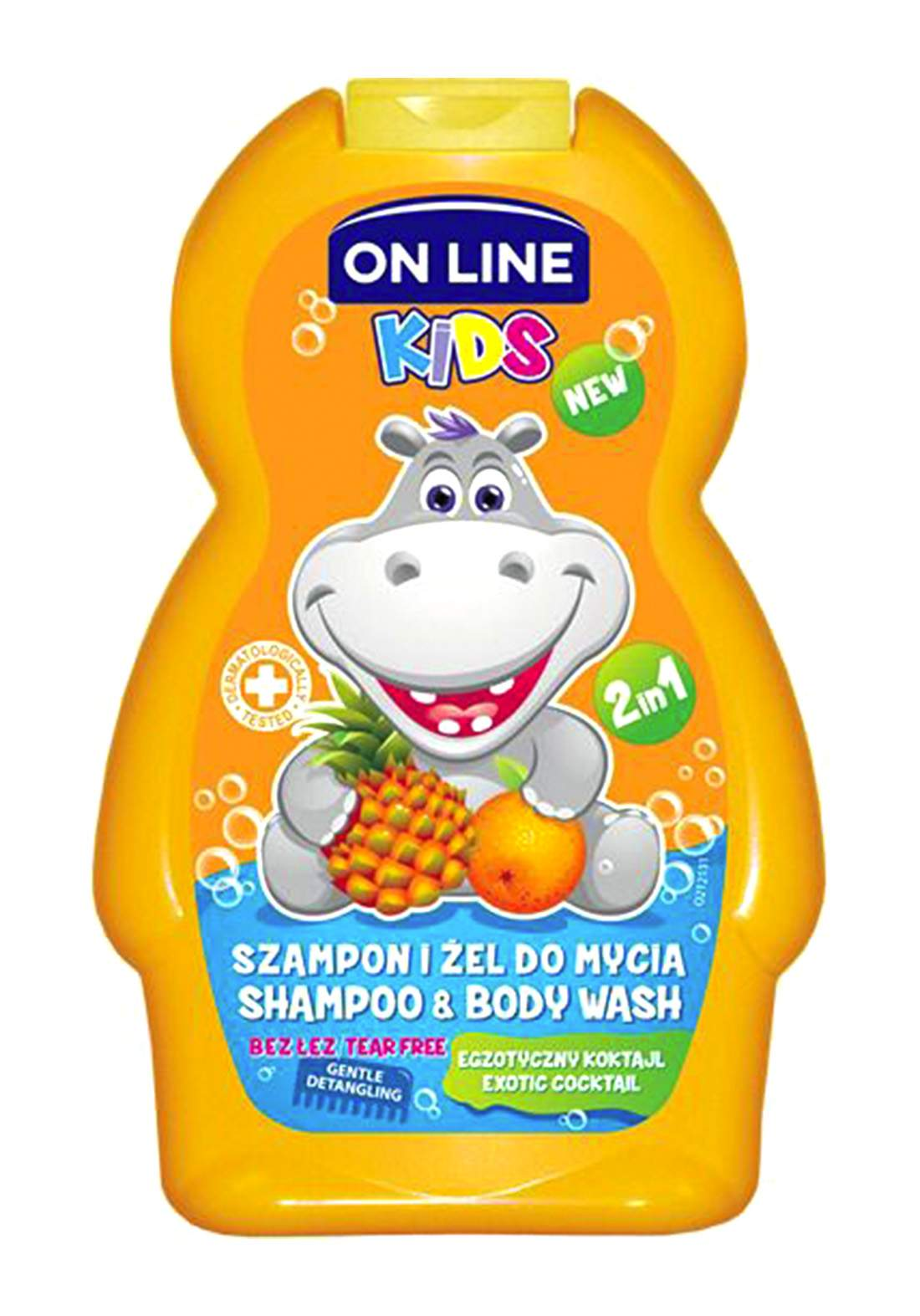 Online exotic cocktail Baby body wash and shampoo 250ml غسول وشامبو للاطفال