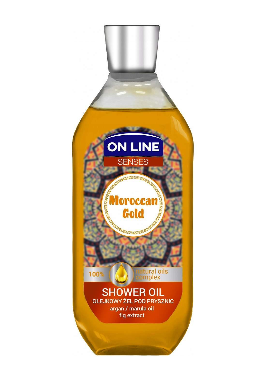 Online Shower Gel Morrocan Gold 500ml غسول استحمام