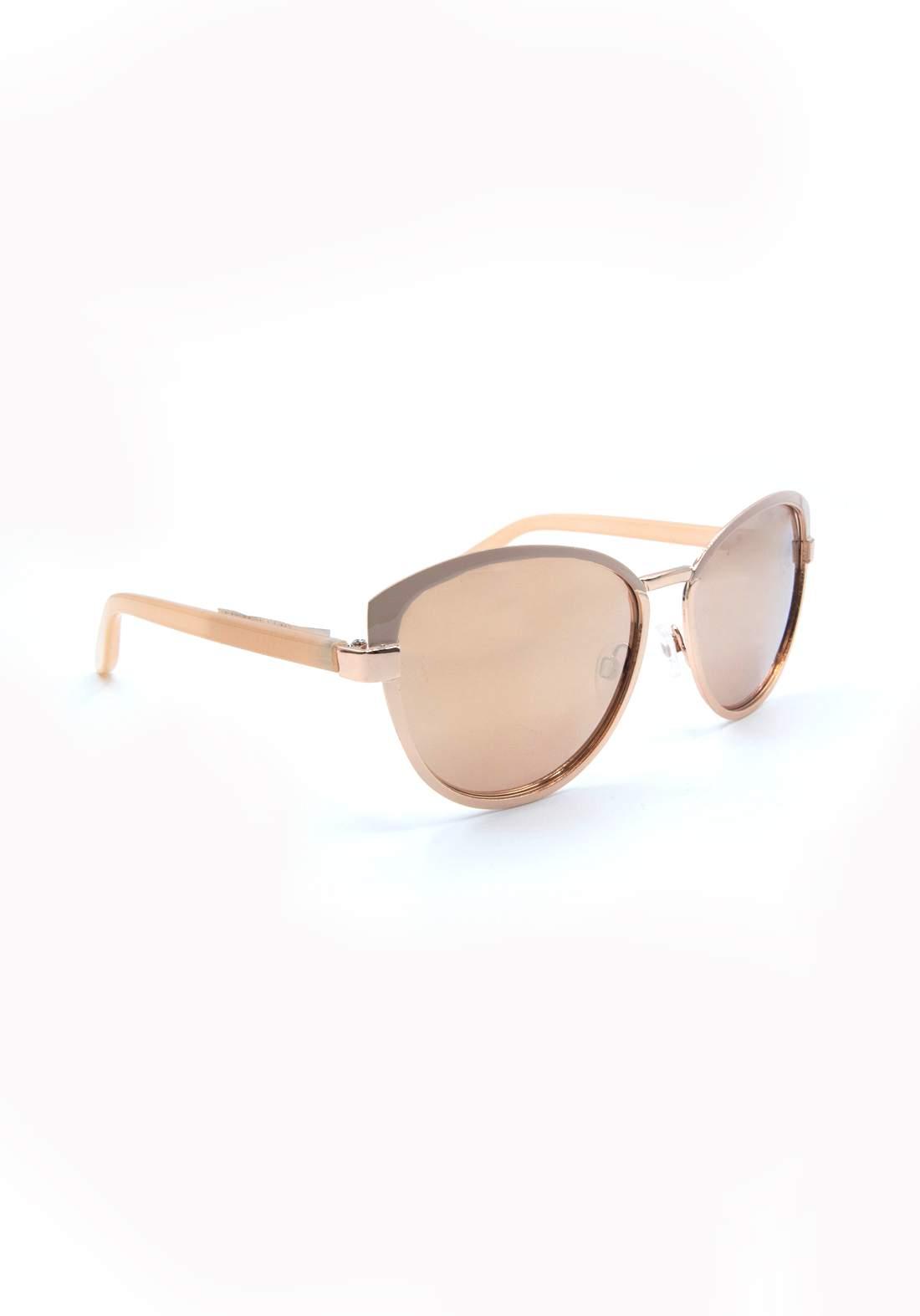 نظارة شمسية نسائية بأطار وردي اللون