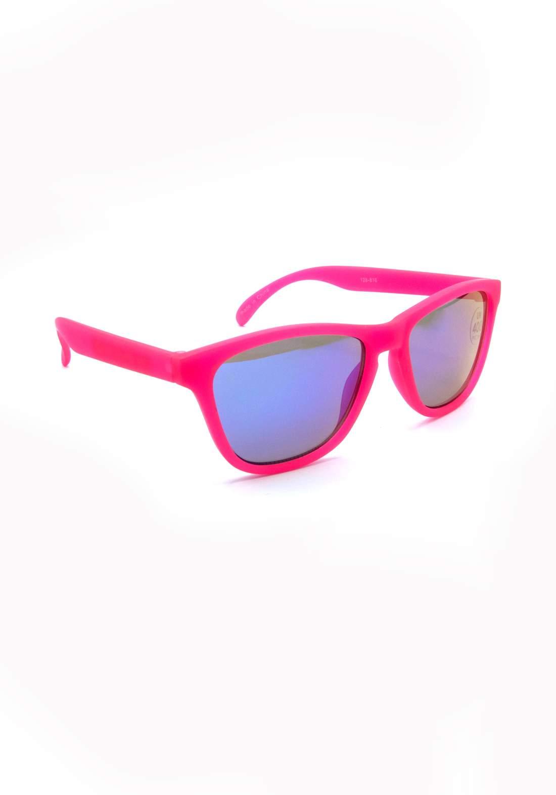 نظارة شمسية للاطفال بأطار وردي اللون