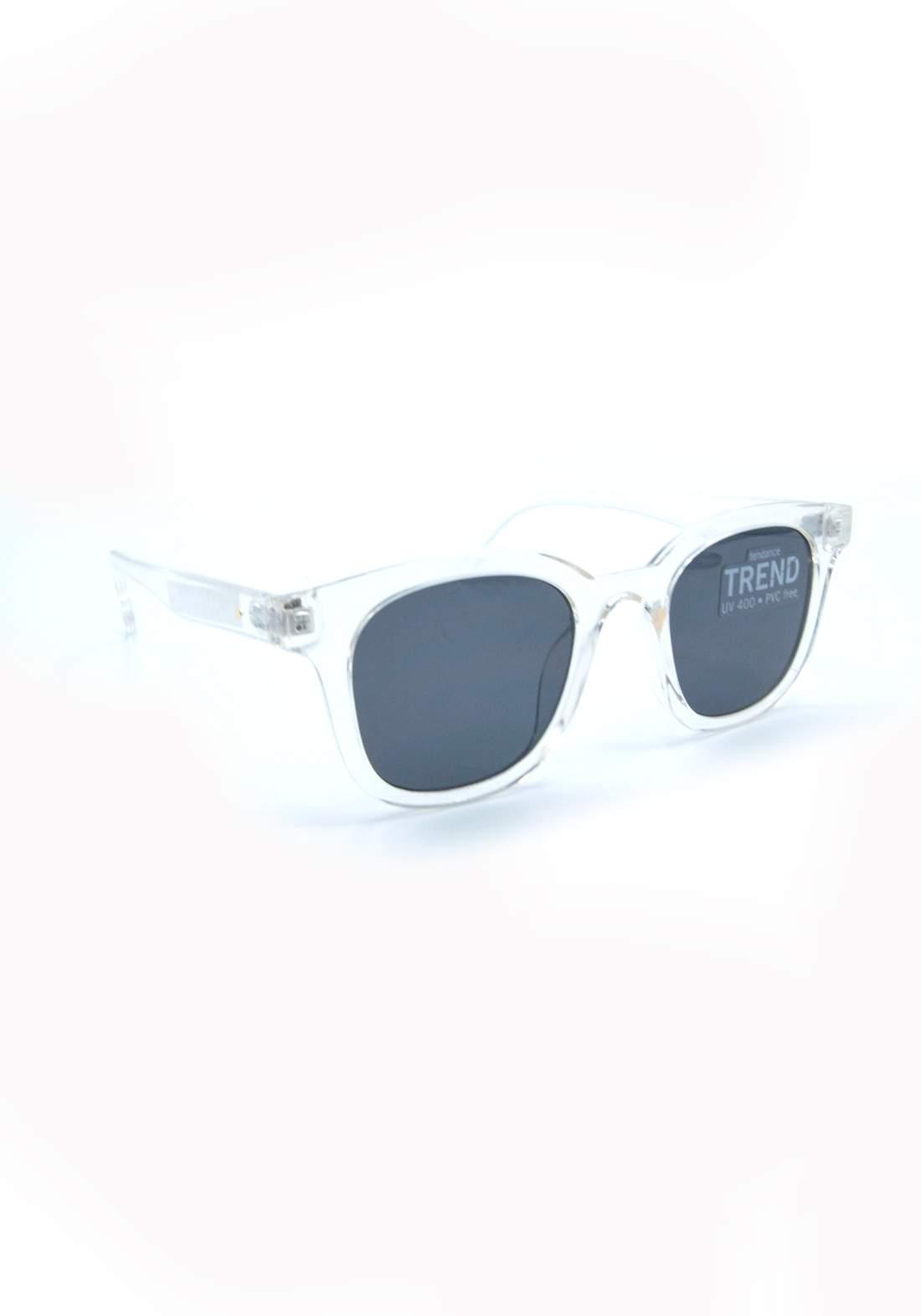 نظارة شمسية للاطفال بأطار شفاف اللون