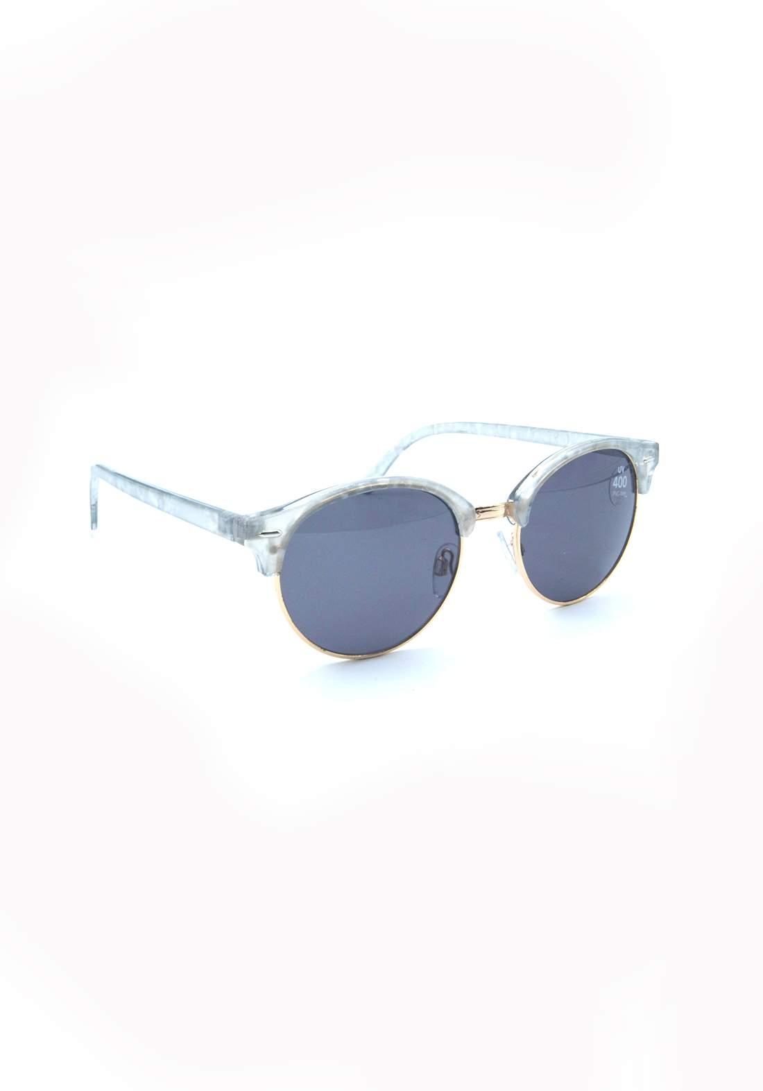 نظارة شمسية نسائية بأطار شفاف