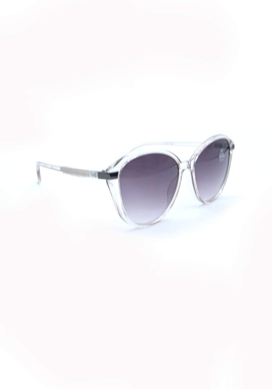 نظارة شمسية نسائية بأطار فضي اللون