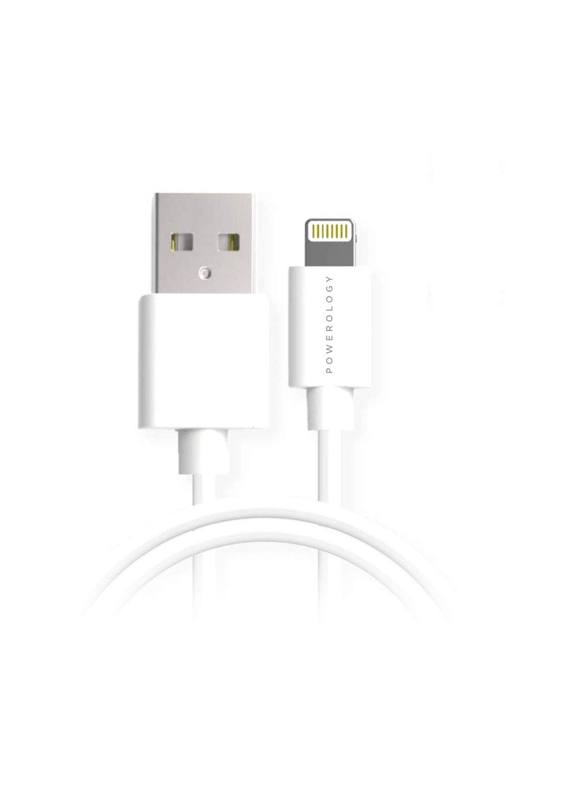 Powerology P3BLWH USB-A to Lightning Cable 3m كابل