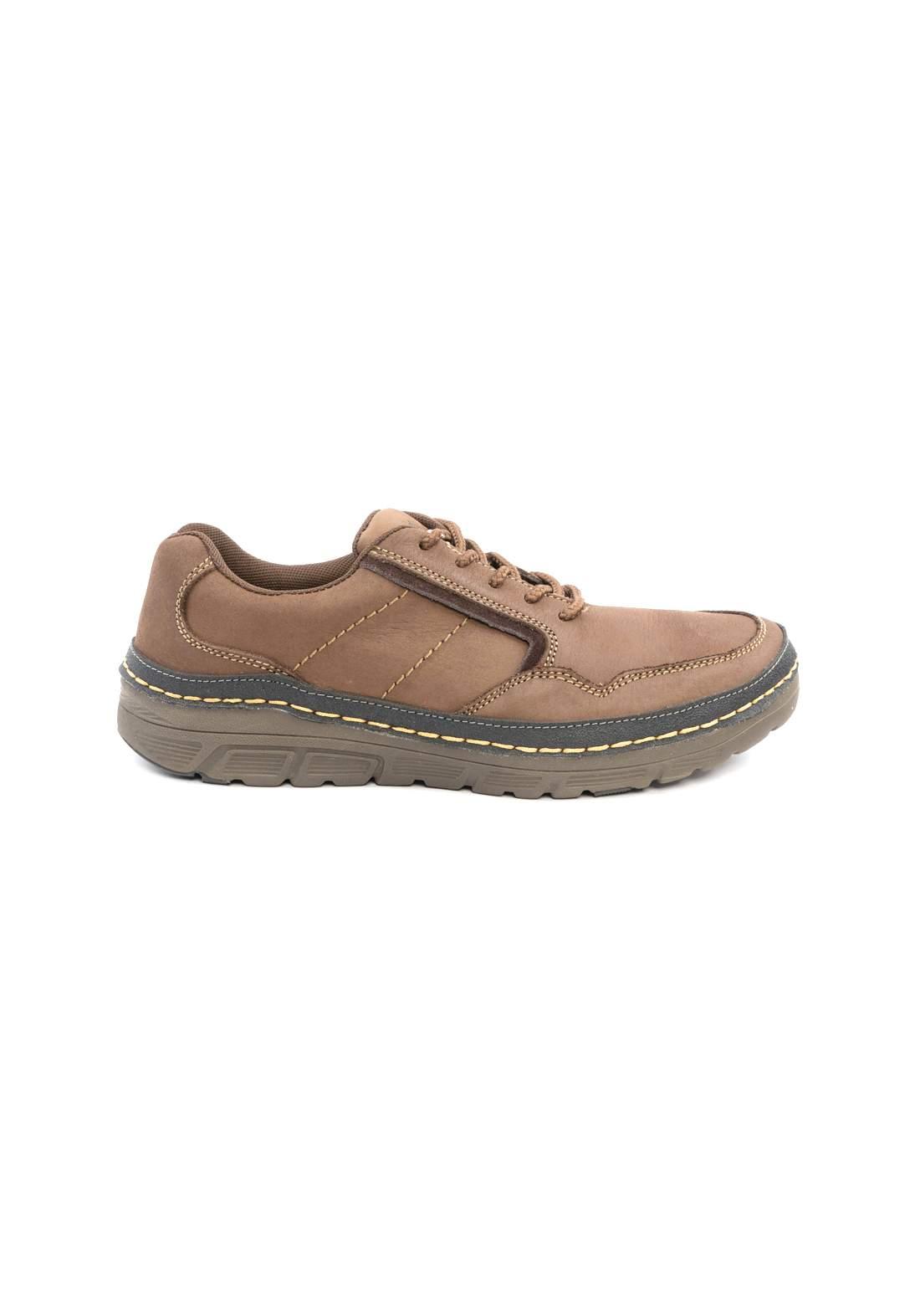 حذاء رجالي بني اللون من Loaks