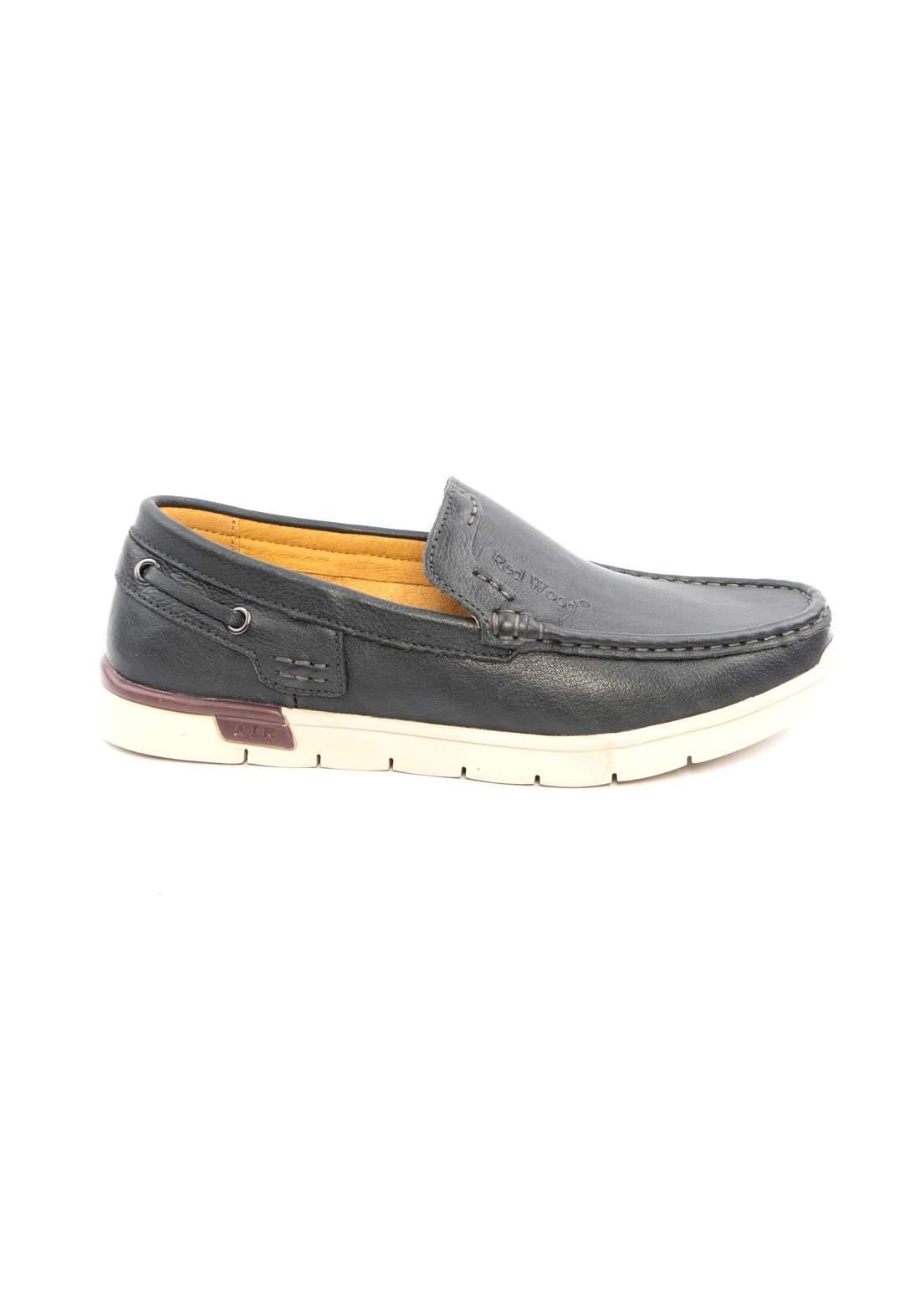 حذاء رجالي اسود اللون من Redwood