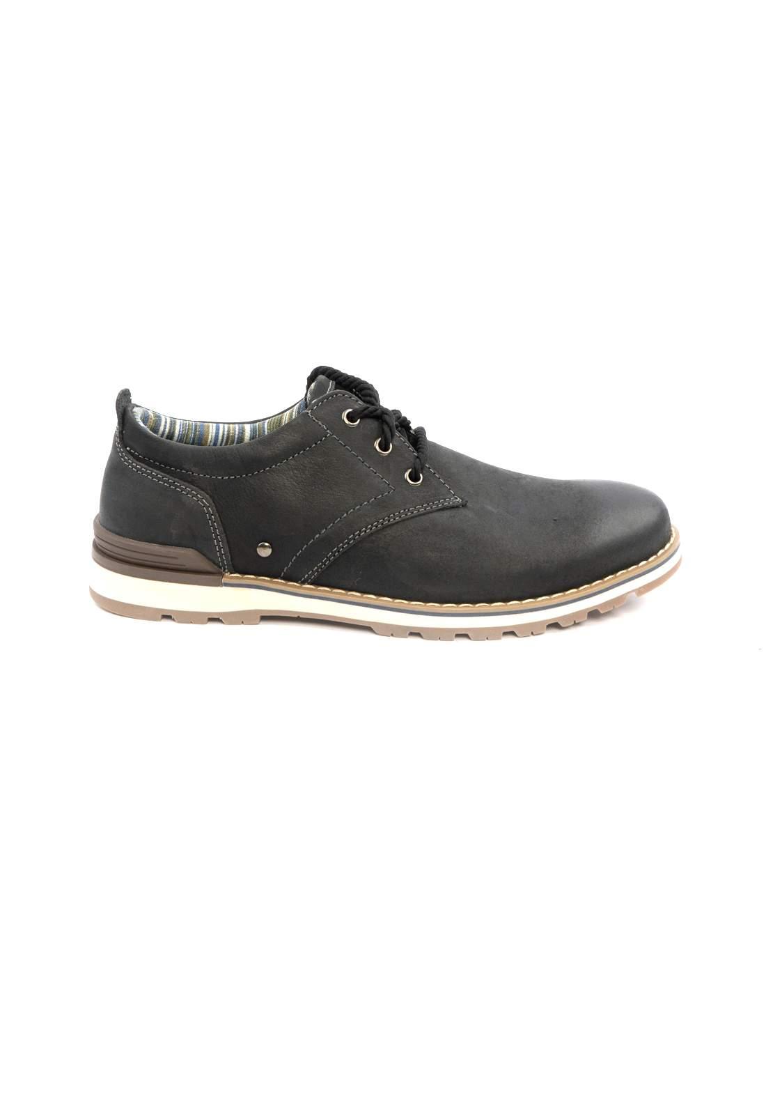 حذاء رجالي اسود اللون من Loaks