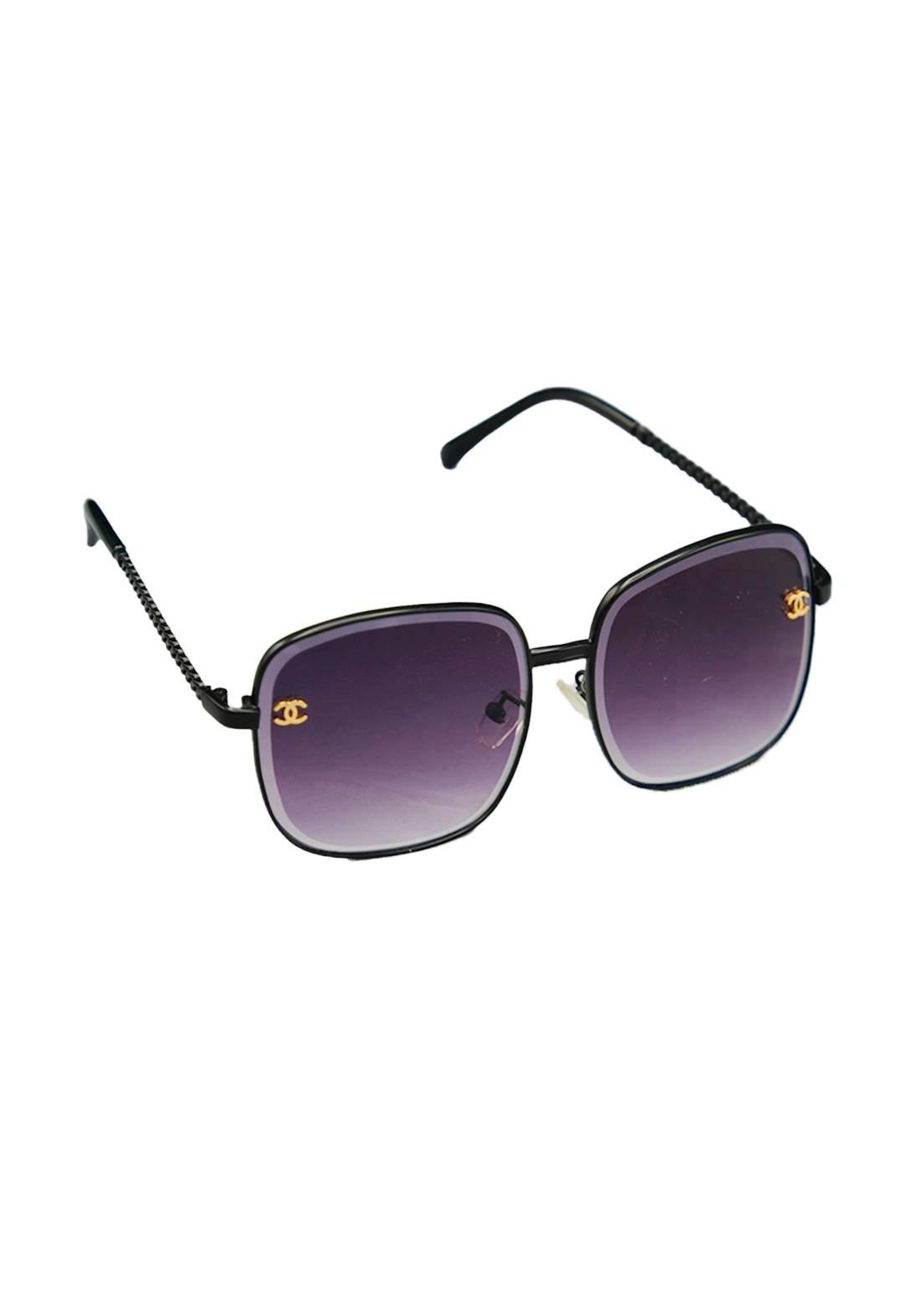 نظارات شمسية نسائية بنفسجي اللون