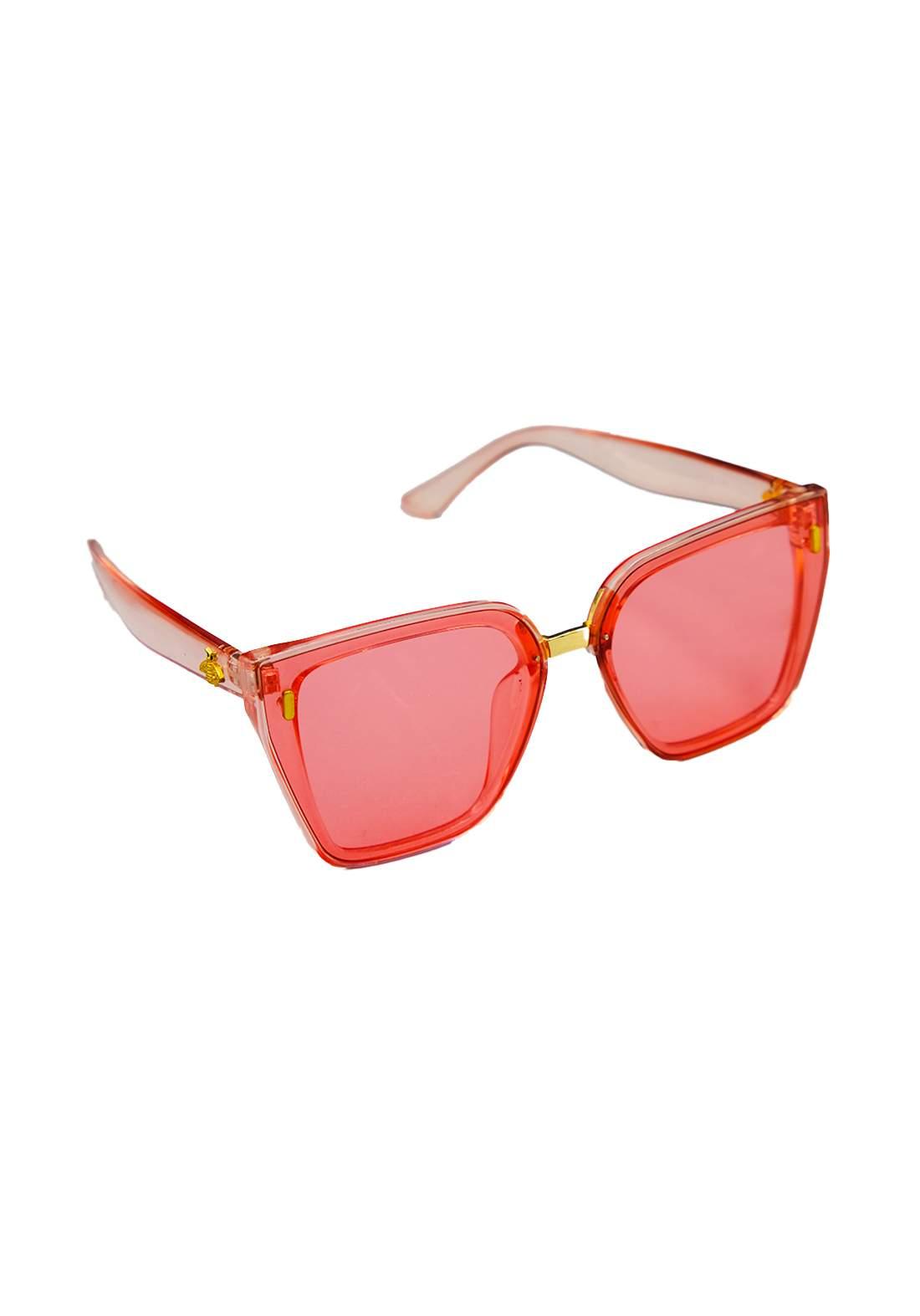 نظارات شمسية نسائية وردي اللون